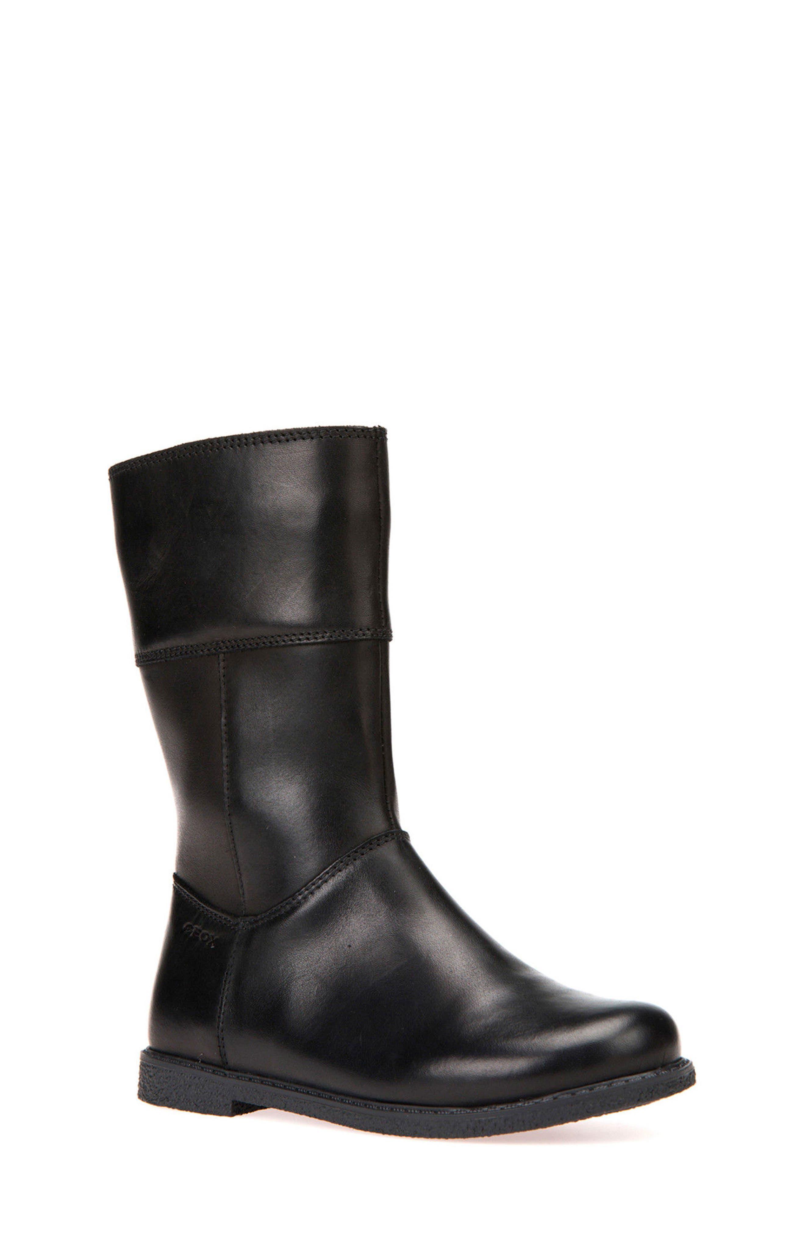 Alternate Image 1 Selected - Geox Shawntel Tall Boot (Toddler, Little Kid & Big Kid)