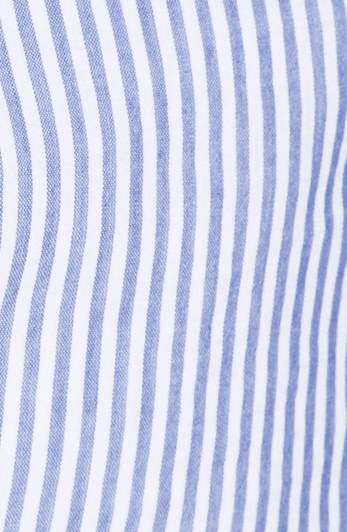 Alternate Image 6  - Rails Frances Embroidered Stripe Shirt