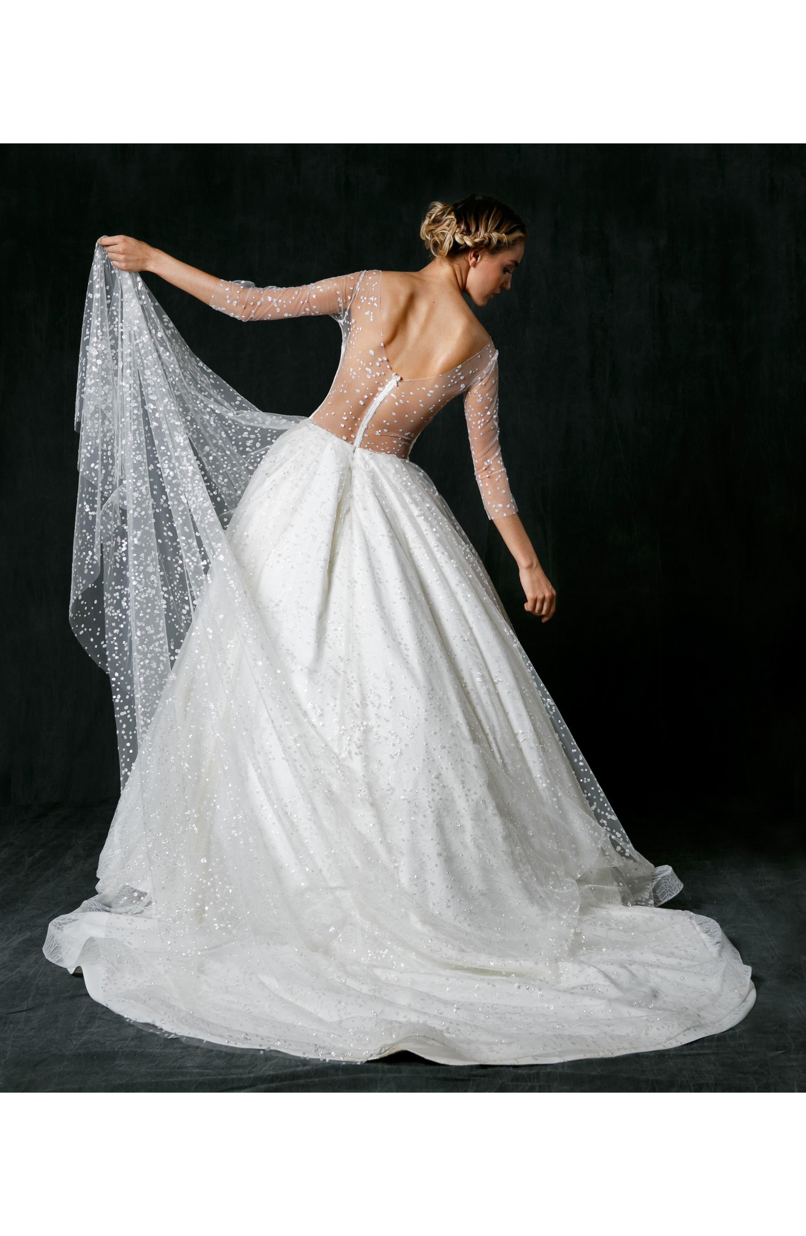 Alternate Image 5  - Sareh Nouri Nannette Sparkle Lace Ballgown
