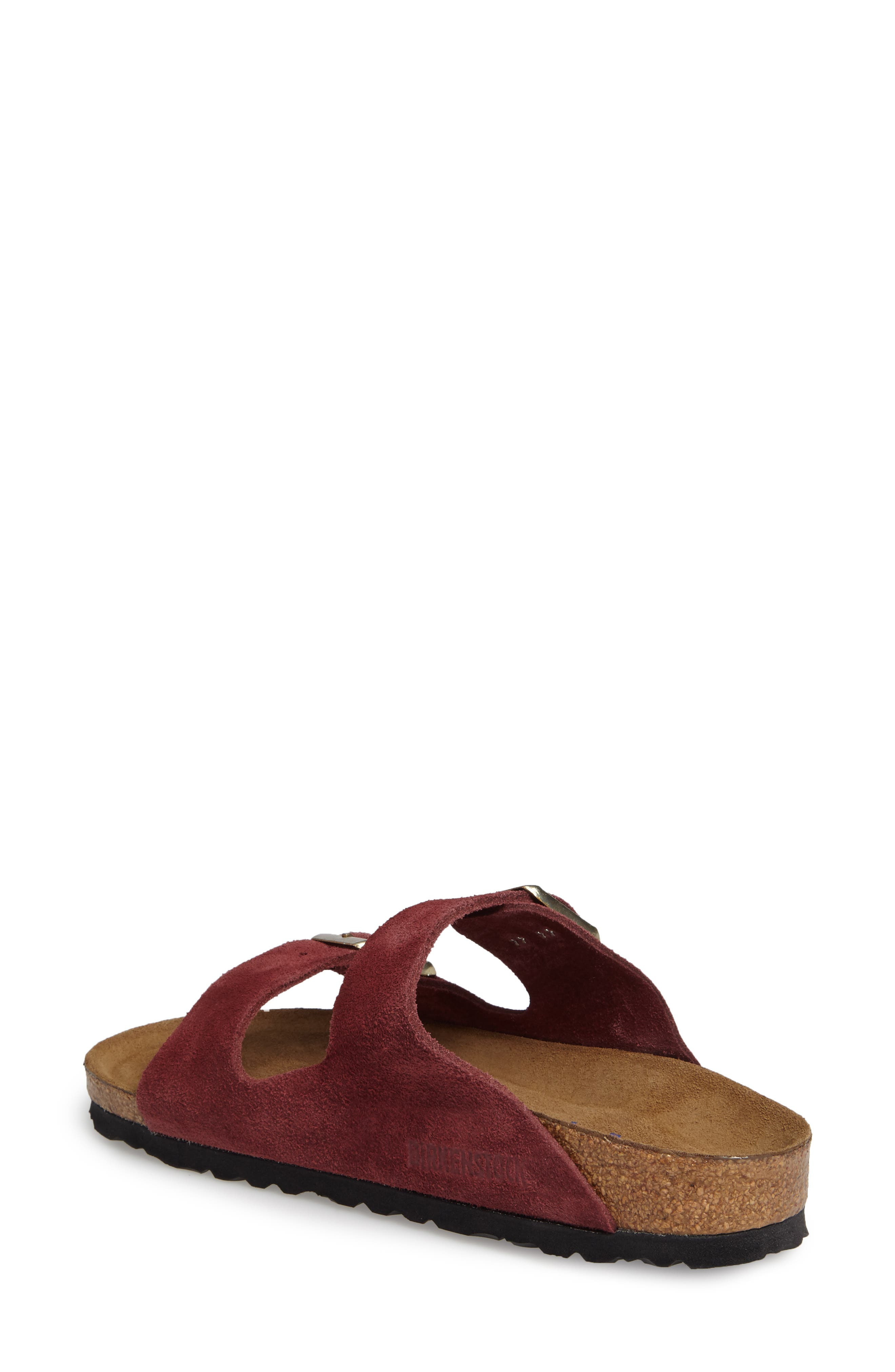 Alternate Image 2  - Birkenstock 'Arizona' Soft Footbed Suede Sandal (Women)