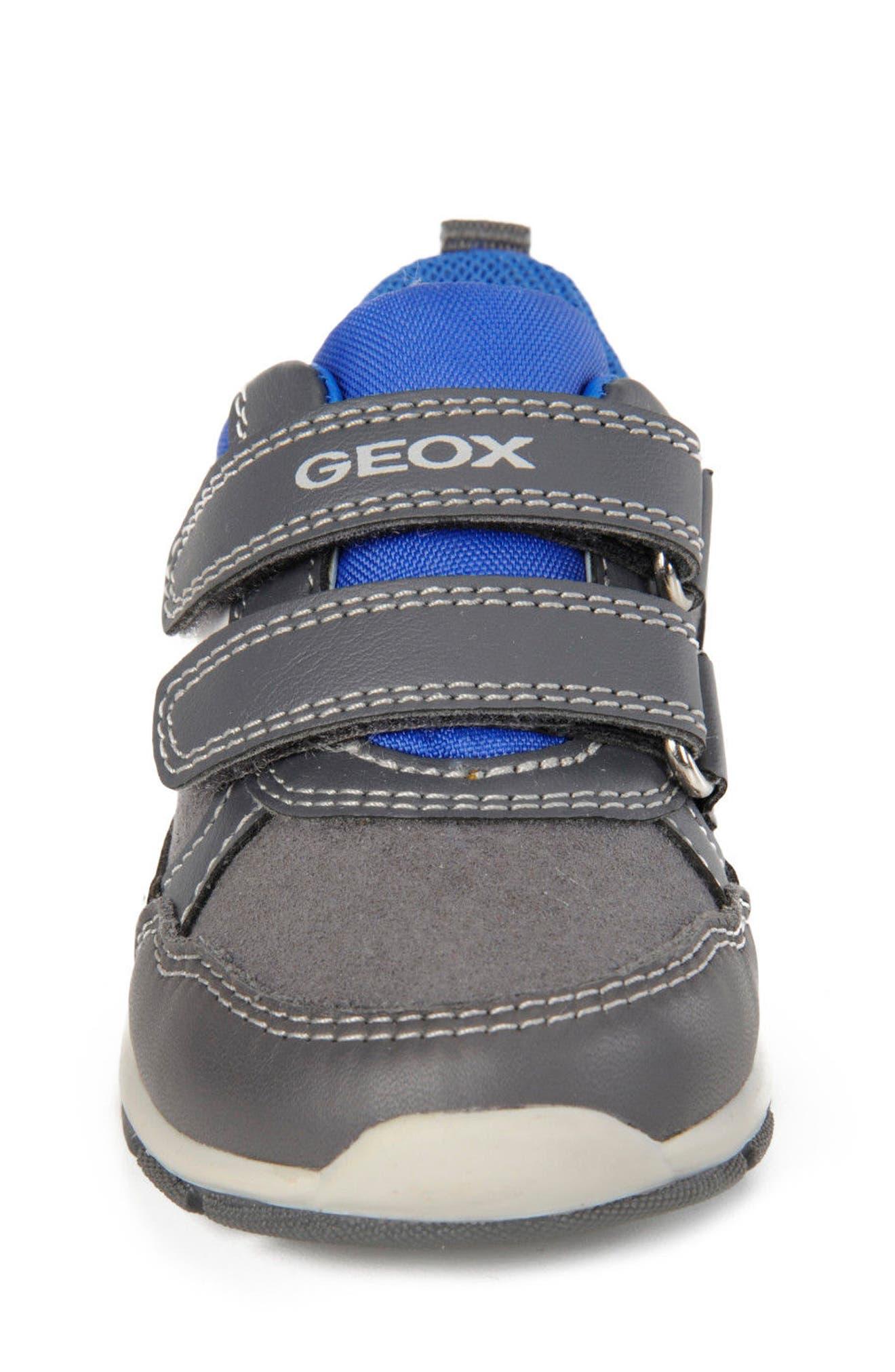 'Shaax 9' Sneaker,                             Alternate thumbnail 4, color,                             Grey/ Royal