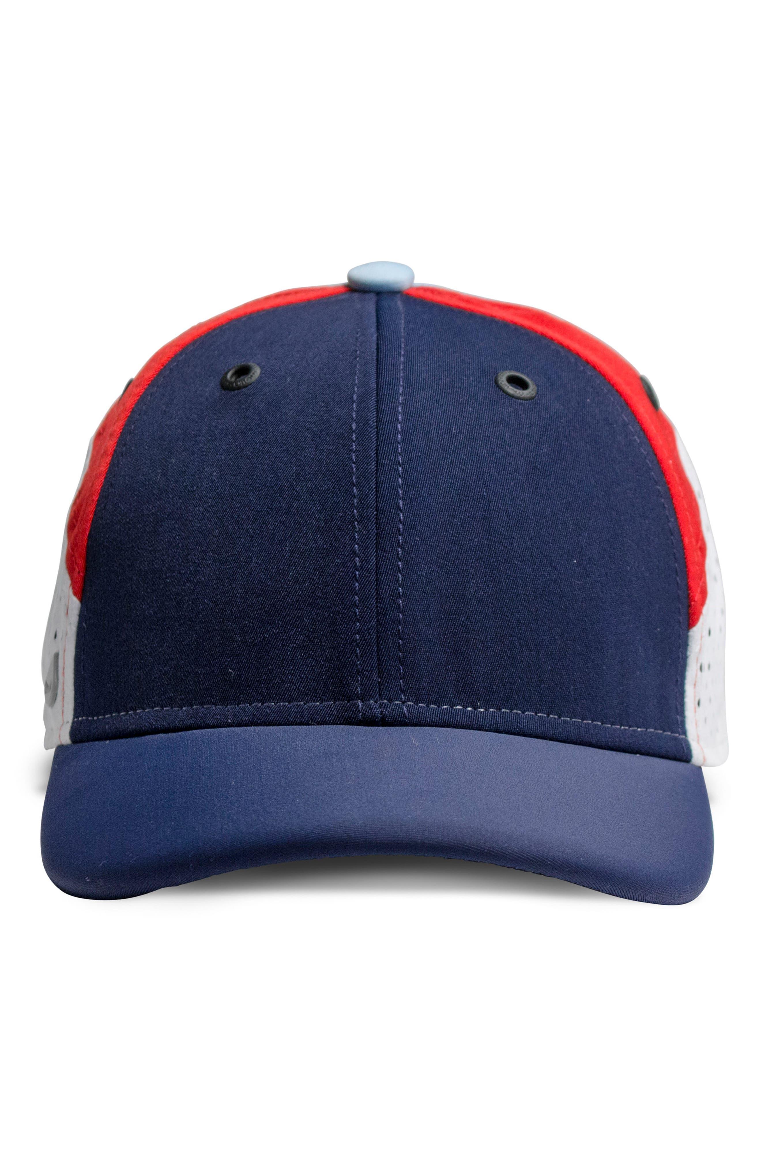 The Assault Snapback Baseball Cap,                             Alternate thumbnail 6, color,                             Red/ White