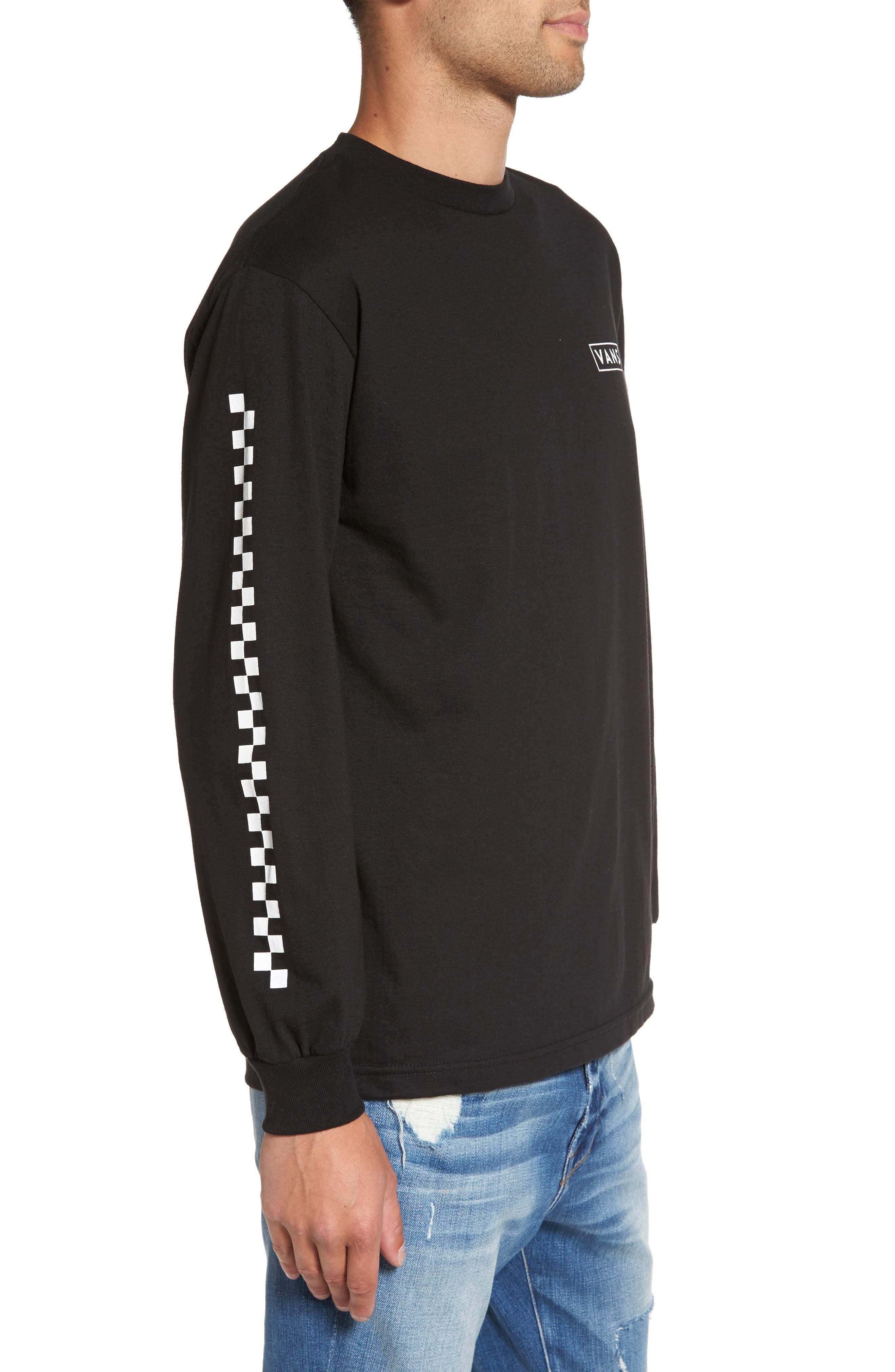Alternate Image 3  - Vans Checkmate Long Sleeve Graphic T-Shirt