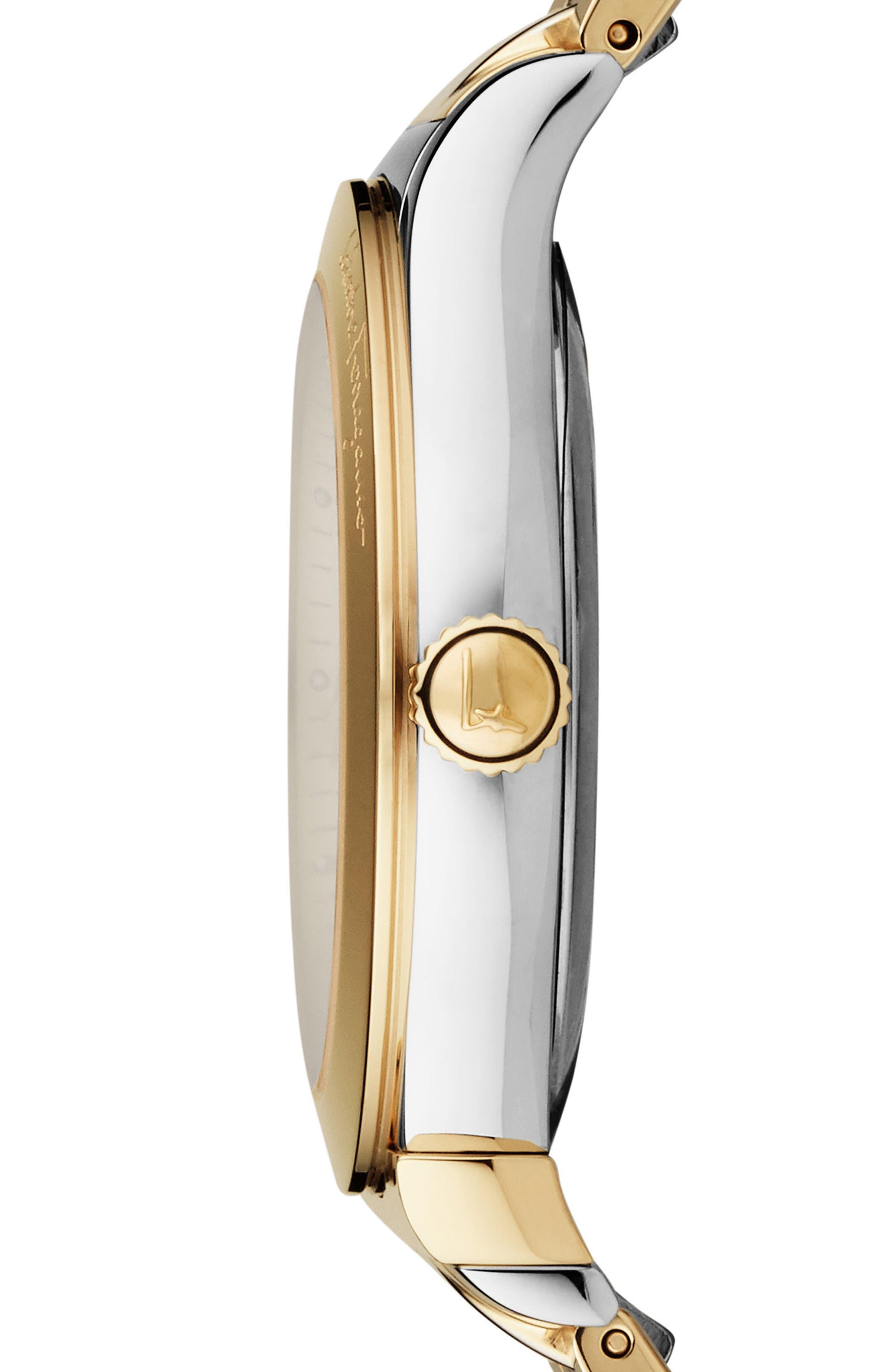 1898 Bracelet Watch, 40mm,                             Alternate thumbnail 3, color,                             Gold/ Silver