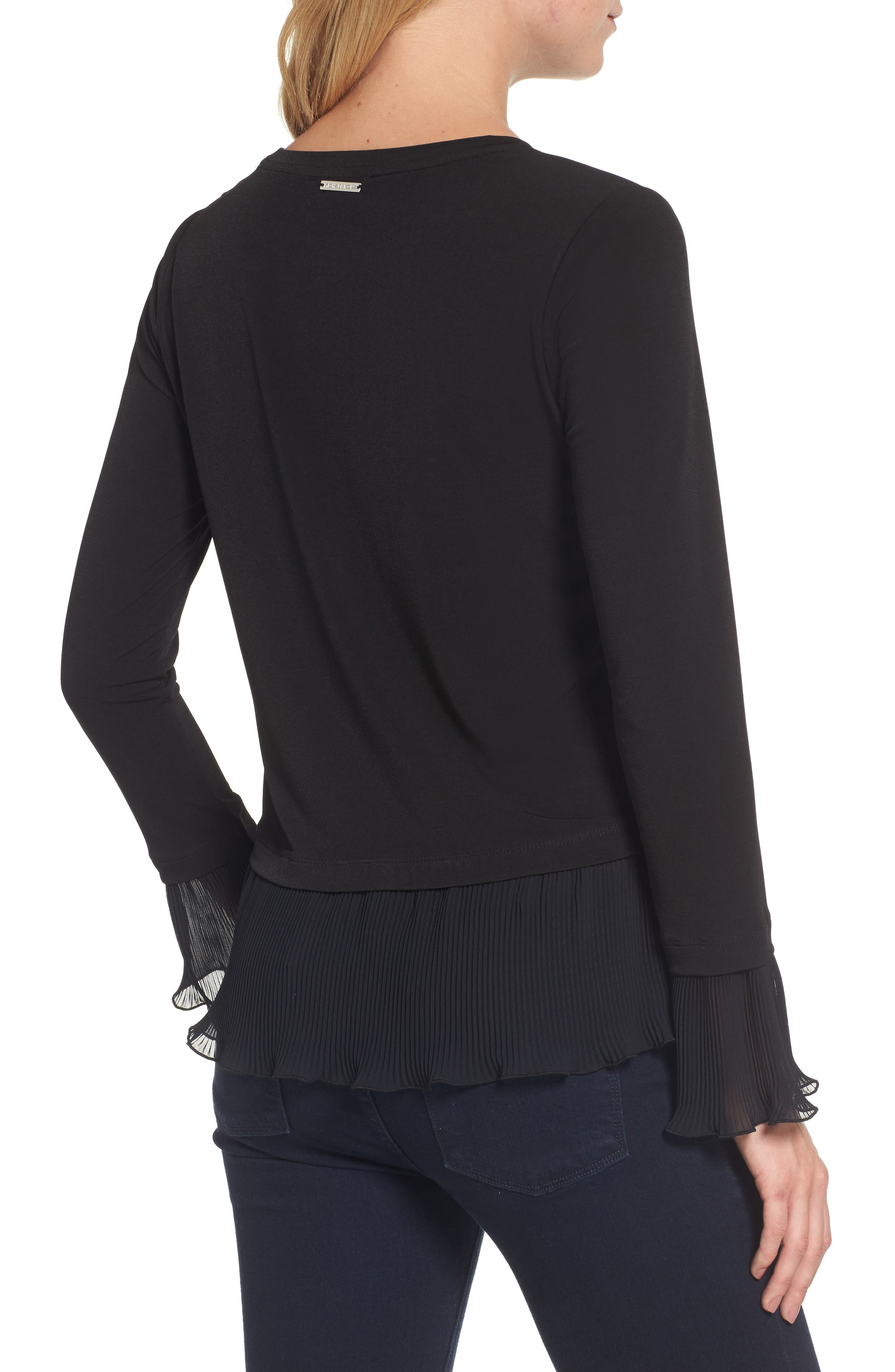 Alternate Image 2  - MICHAEL Michael Kors Ruffle Hem Top