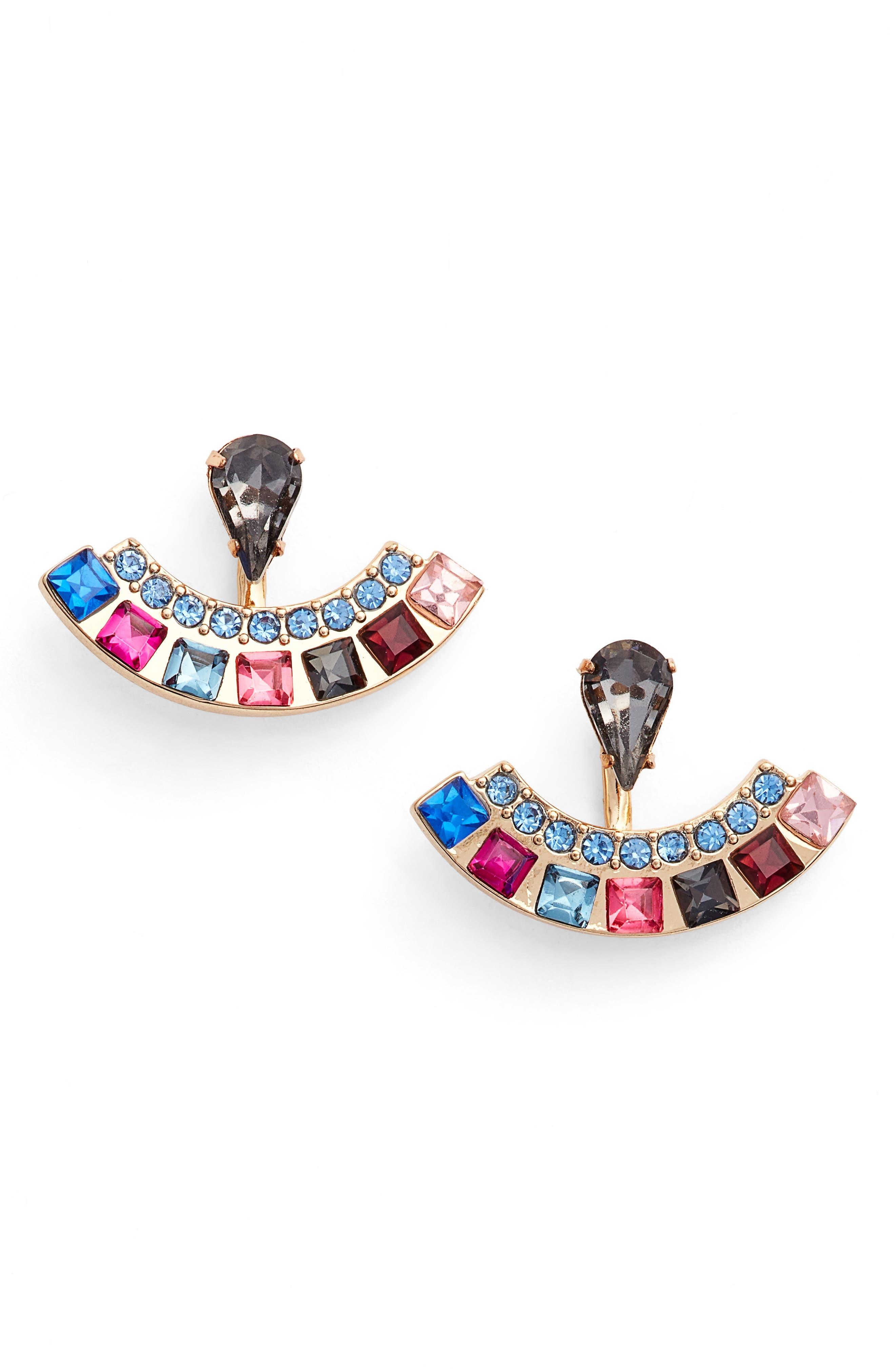 Rebecca Minkoff Clara Jewel Ear Jackets