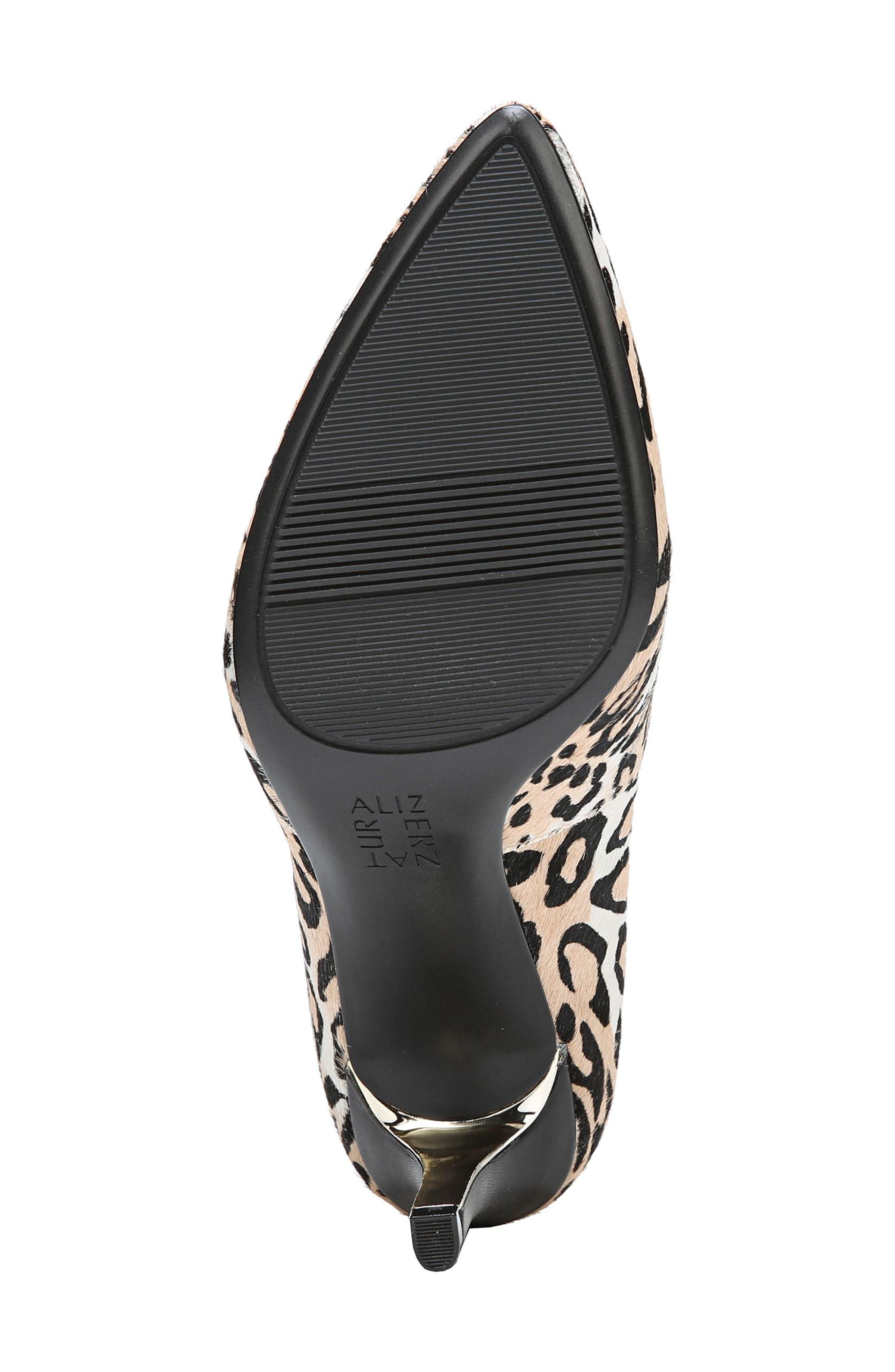 Natalie 2 Genuine Calf Hair Pump,                             Alternate thumbnail 6, color,                             Cheetah Brahma Hair