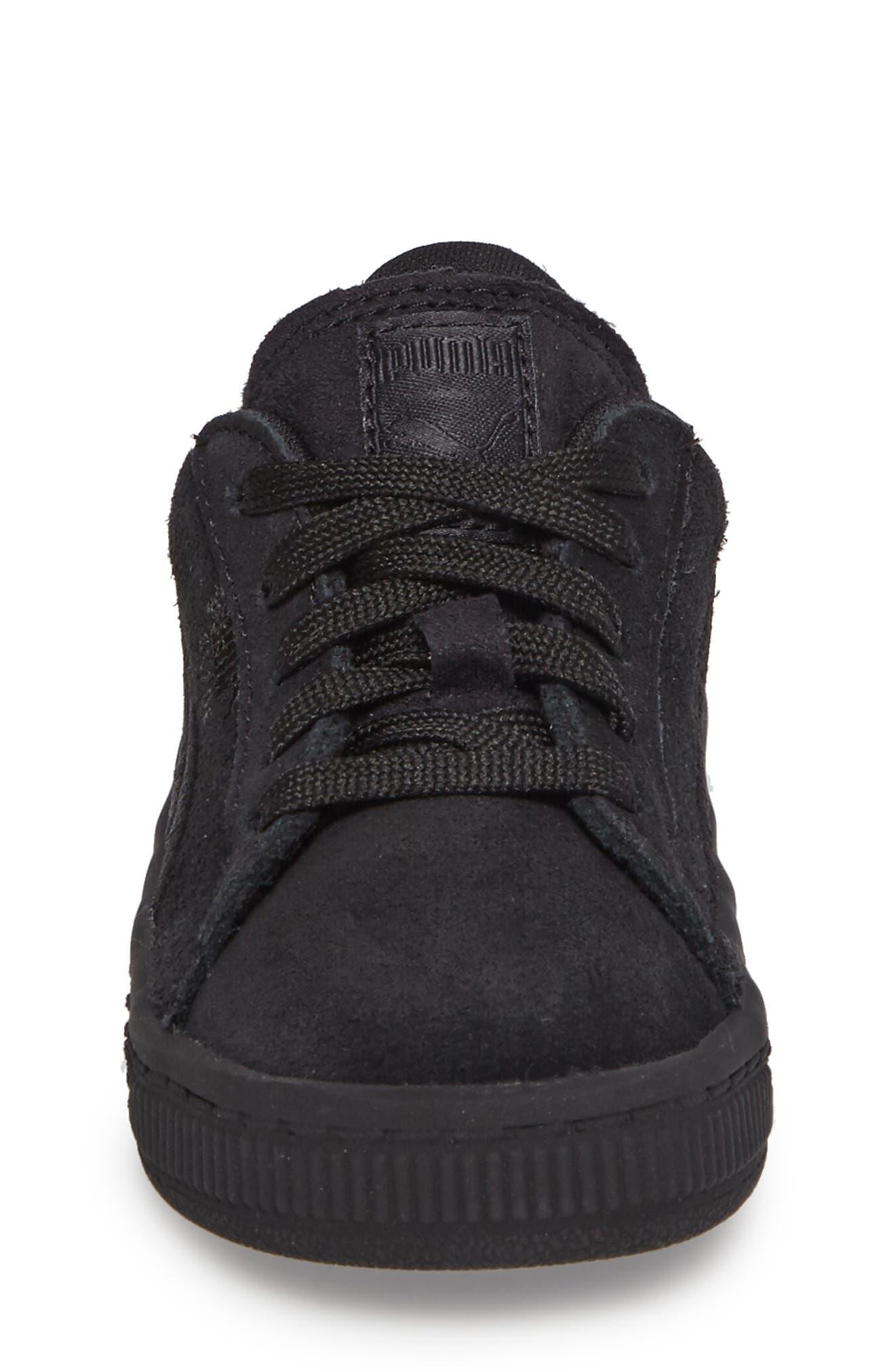 Alternate Image 4  - PUMA Suede Classic Sneaker (Baby, Walker & Toddler)