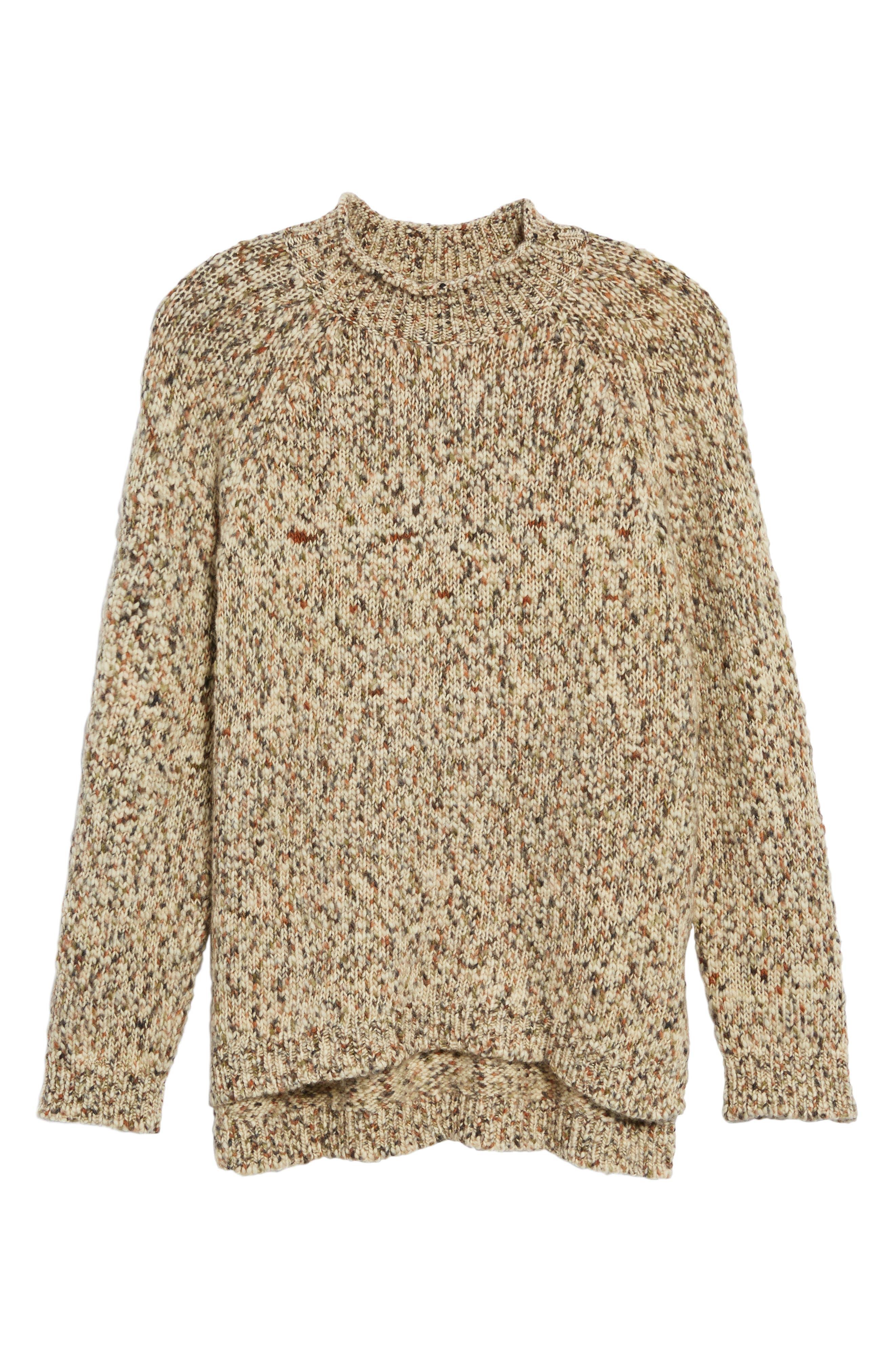 Alternate Image 7  - Barbour Jane Funnel Neck Wool Sweater