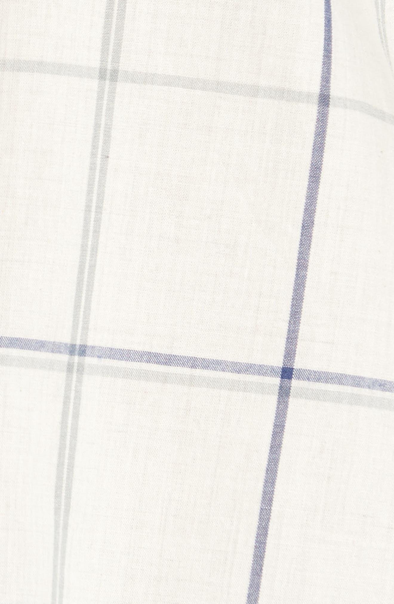 Plaid Shirt,                             Alternate thumbnail 5, color,                             Natural Multi