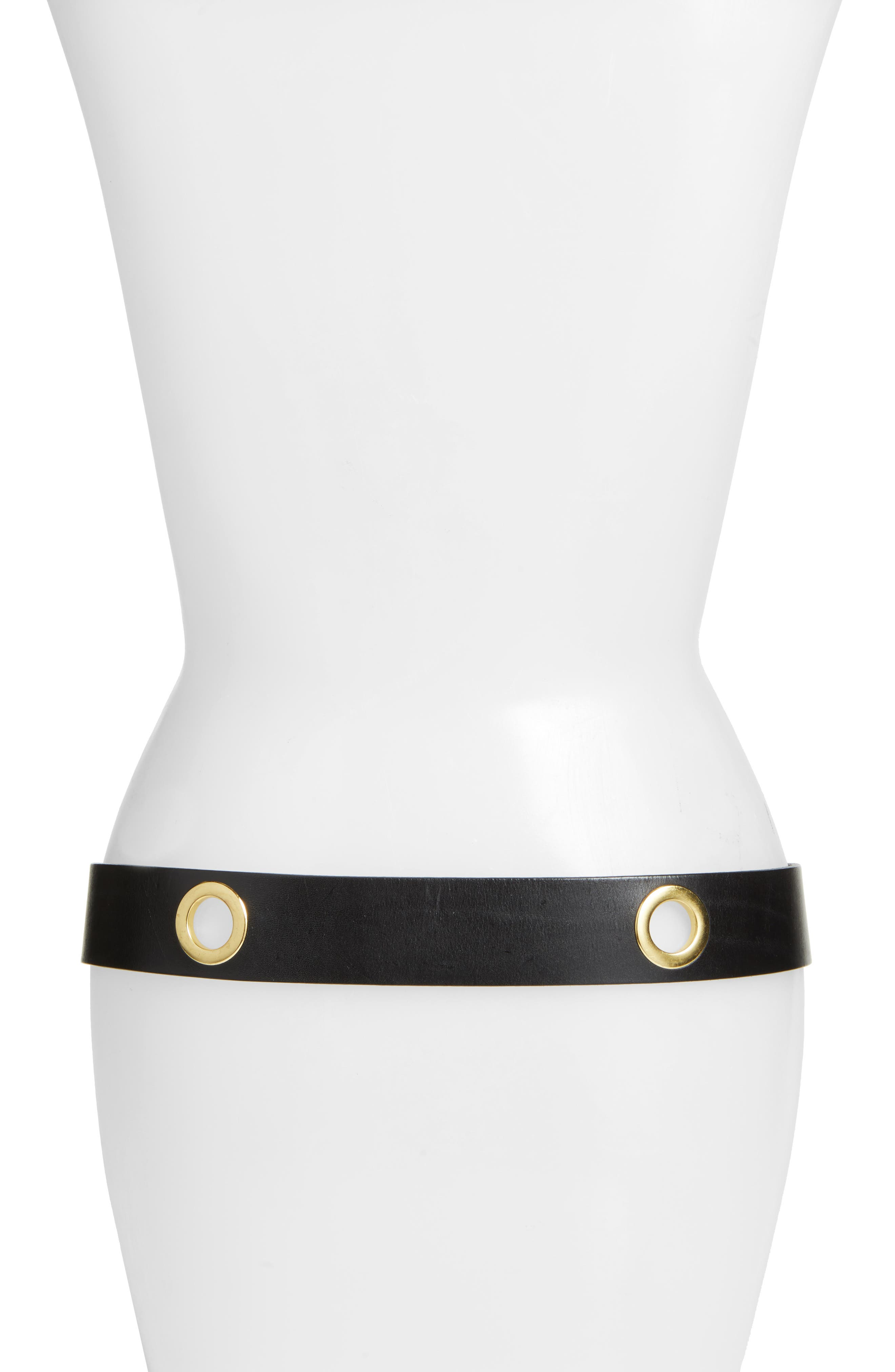 Alternate Image 2  - Rebecca Minkoff Elle Grommet Leather Belt