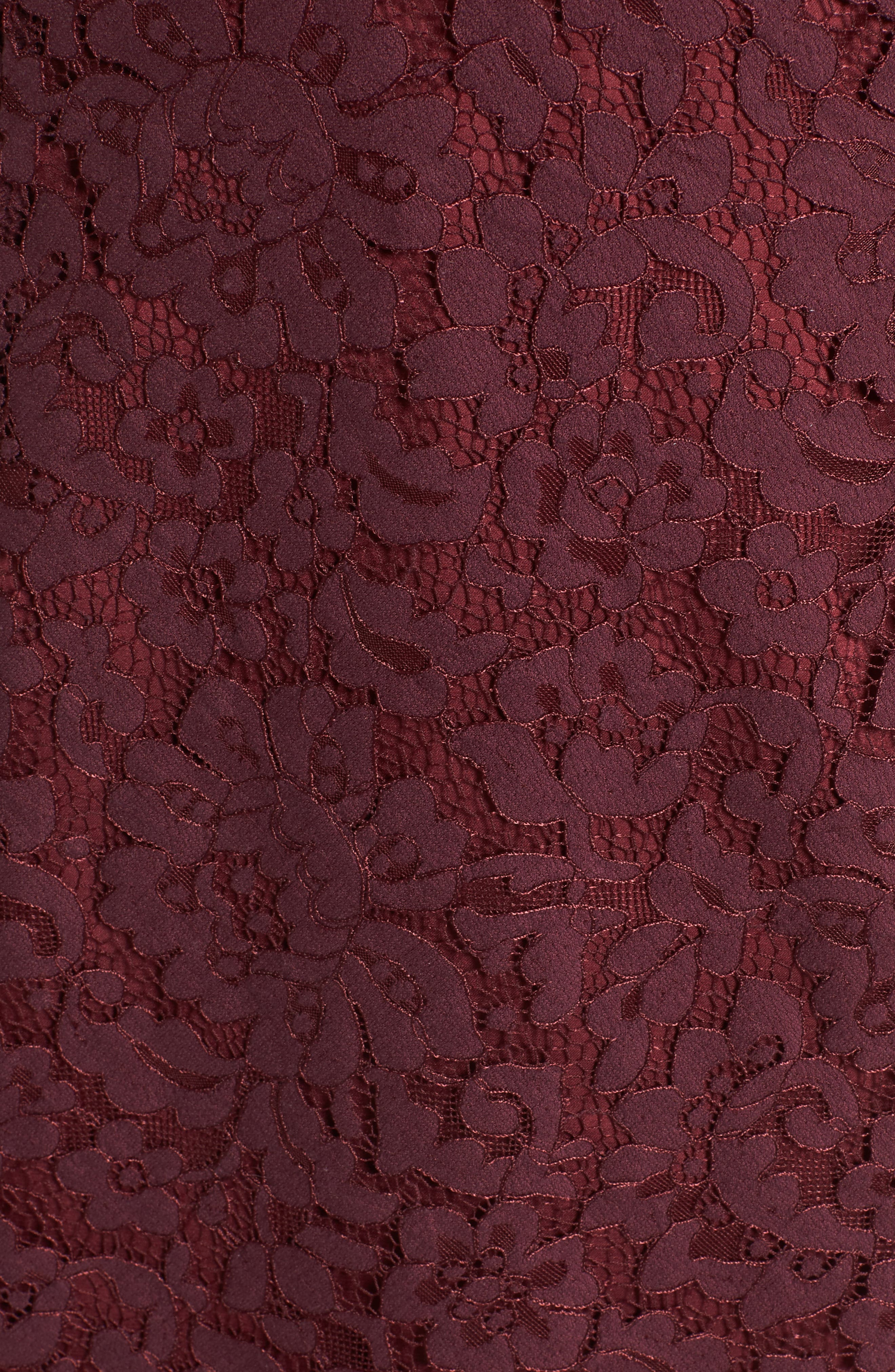 Alternate Image 5  - Lovers + Friends Skylight Lace Midi Dress