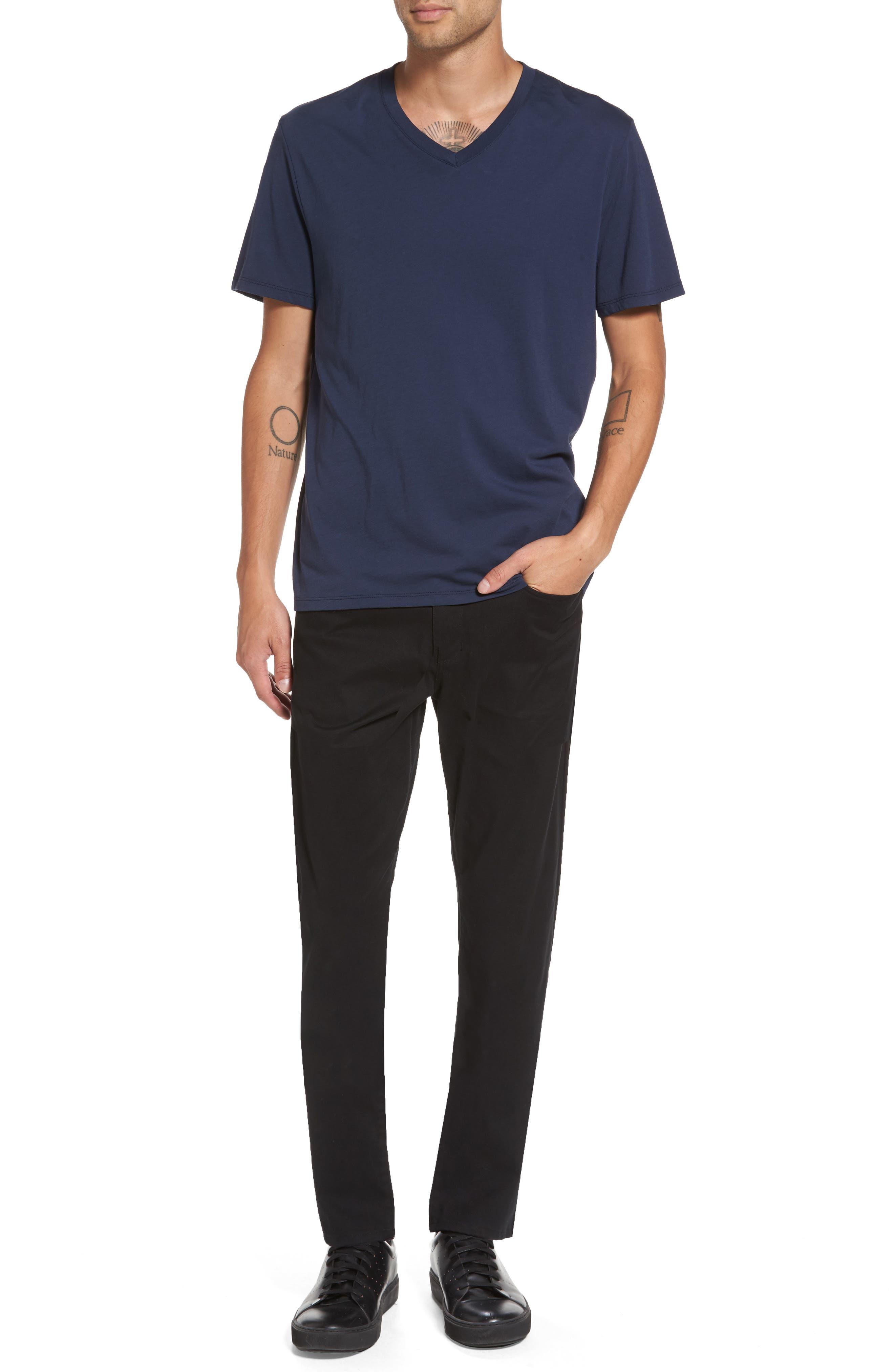 Regular Fit V-Neck T-Shirt,                             Alternate thumbnail 7, color,                             Starry Night