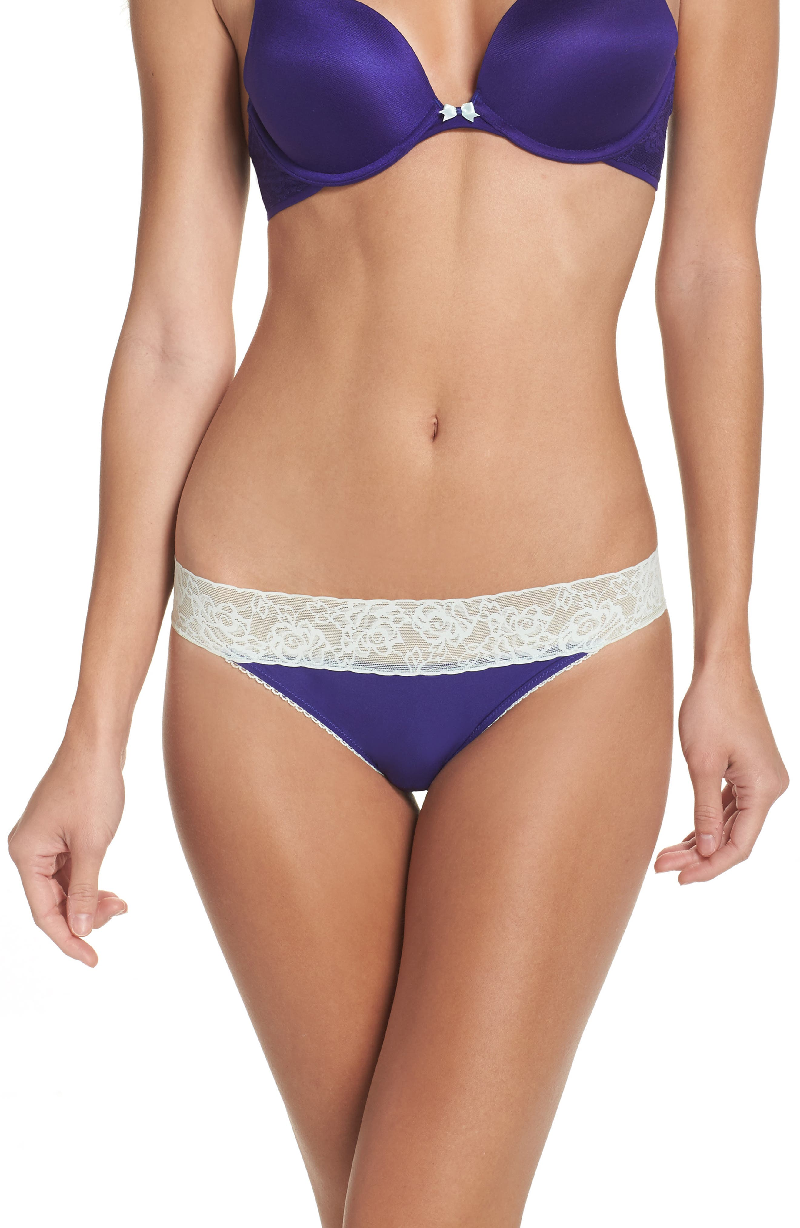 Forever Perfect Hipster Panties,                         Main,                         color, Almost Midnight