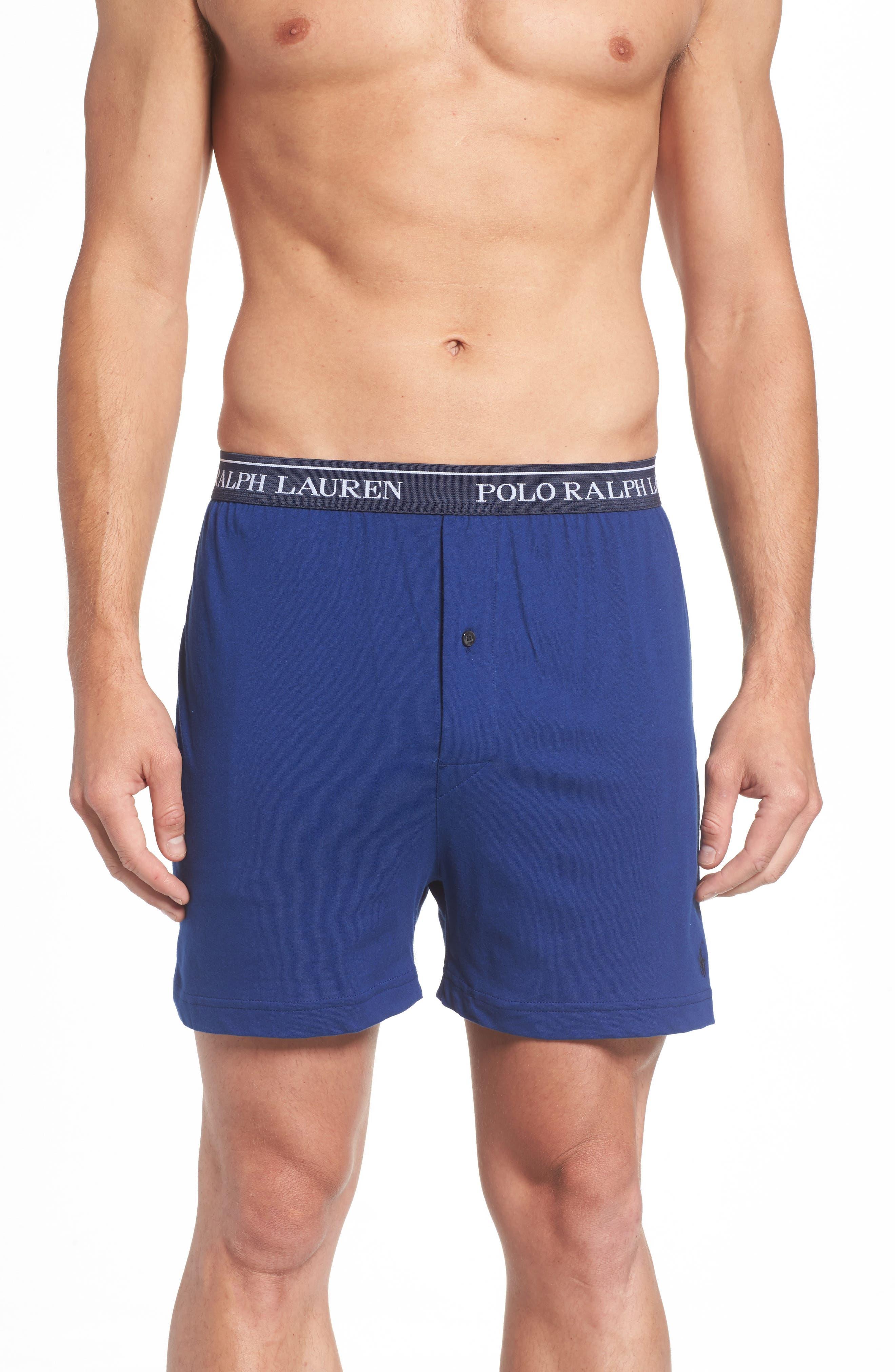 3-Pack Cotton Boxers,                             Alternate thumbnail 2, color,                             Club Royal Blue