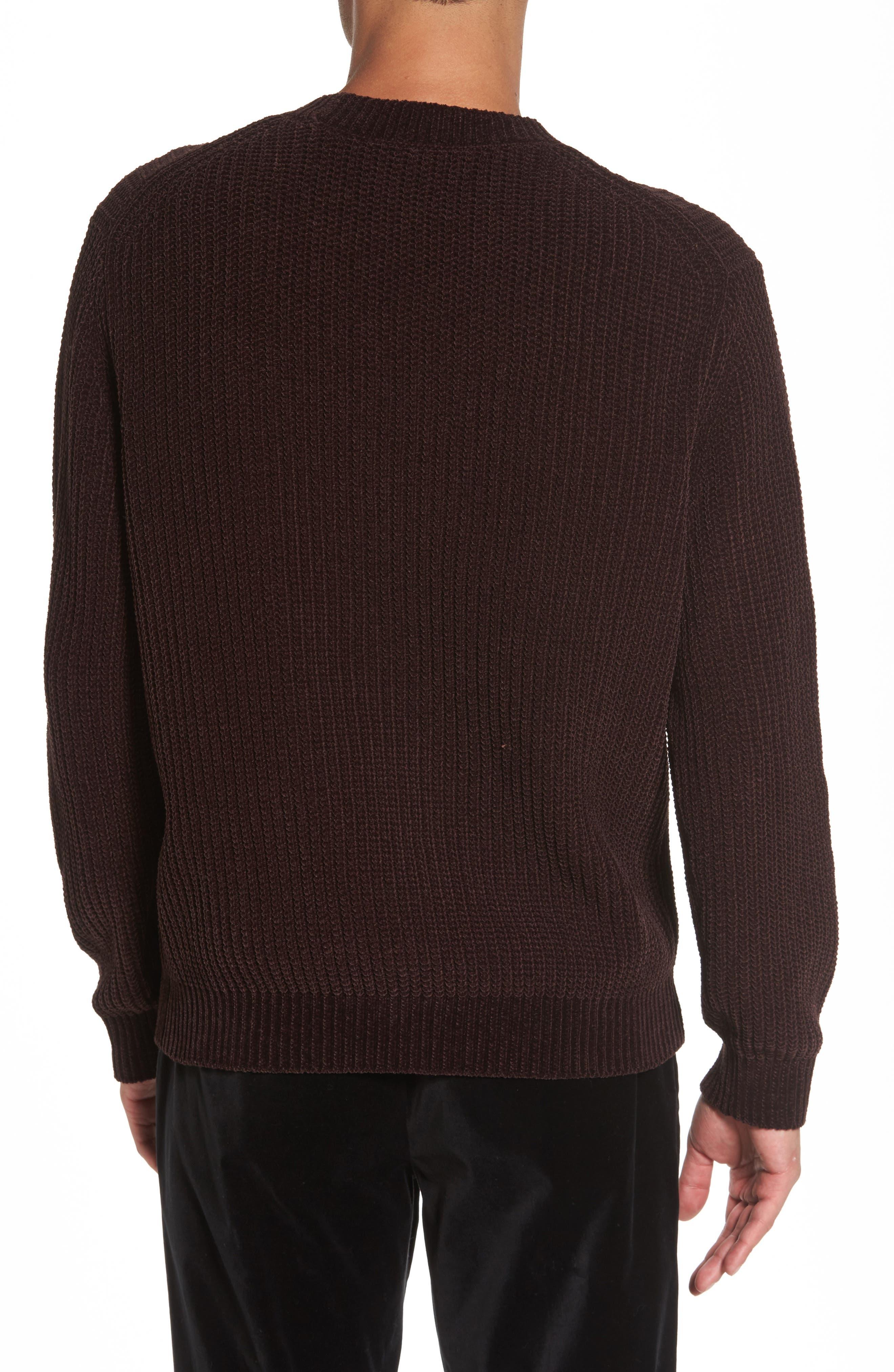 Alternate Image 2  - Vince Ribbed Crewneck Sweater