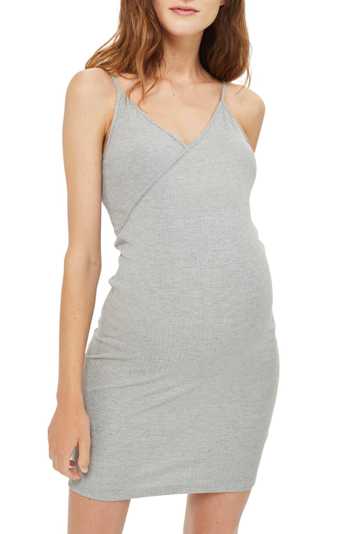 TOPSHOP Kaia Maternity Body-Con Dress
