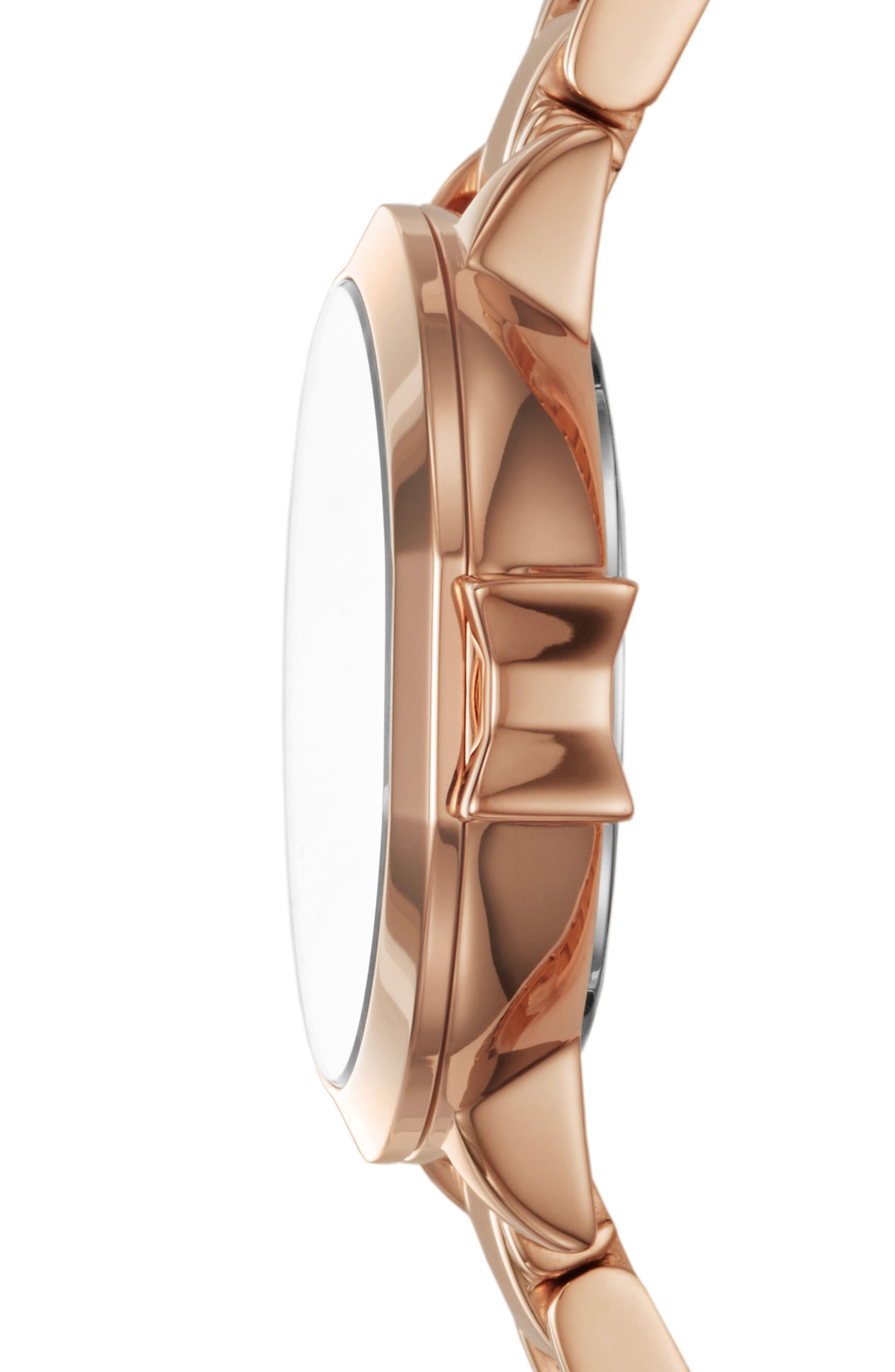 Alternate Image 2  - kate spade new york park row bracelet watch, 24mm