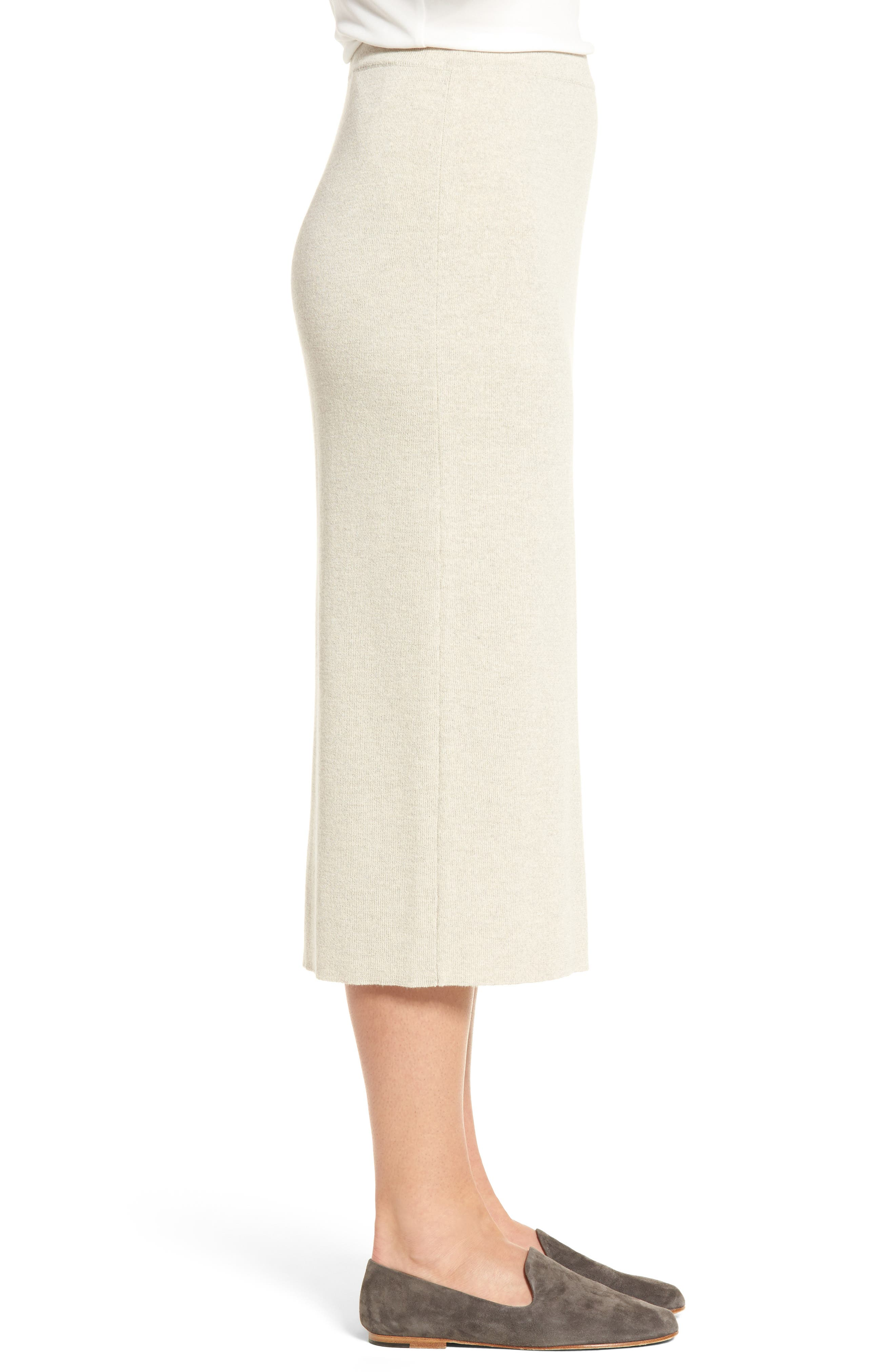 Alternate Image 3  - Eileen Fisher Wool Knit Pencil Skirt