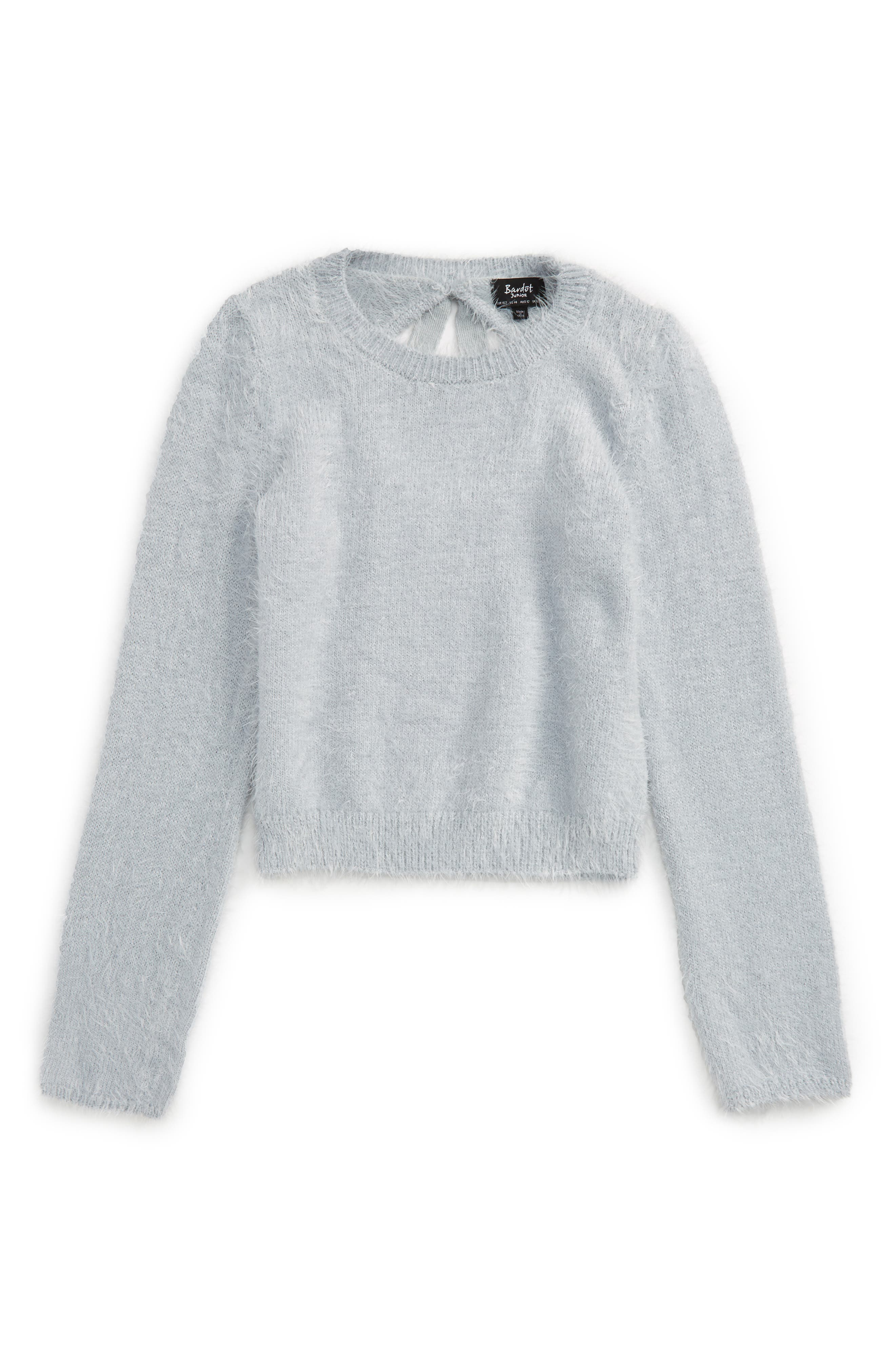 Bardot Junior Tie Back Sweater (Big Girls)