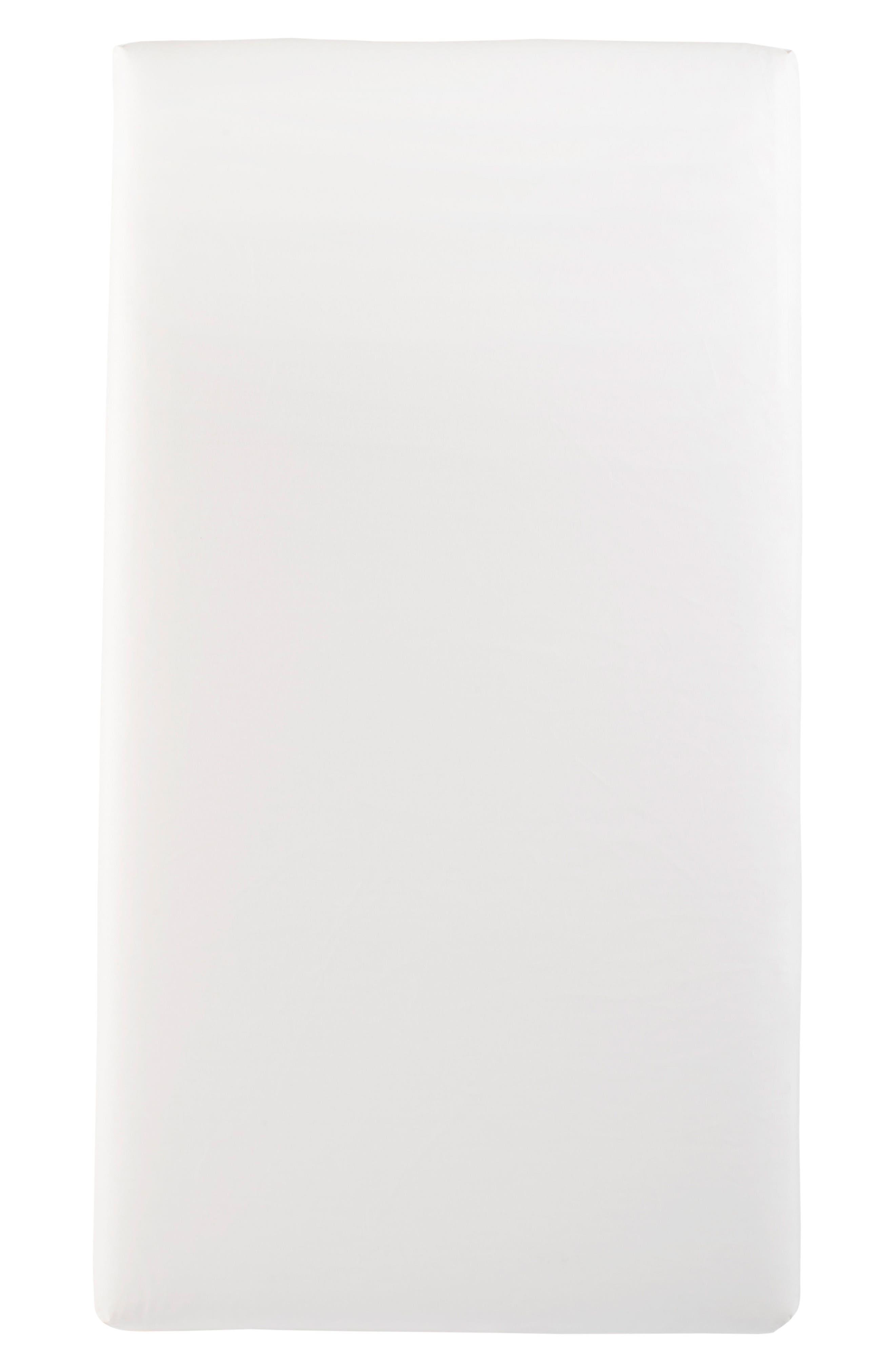 x Rosie Pope Pure & Secure Sleep Crib Mattress,                         Main,                         color, White