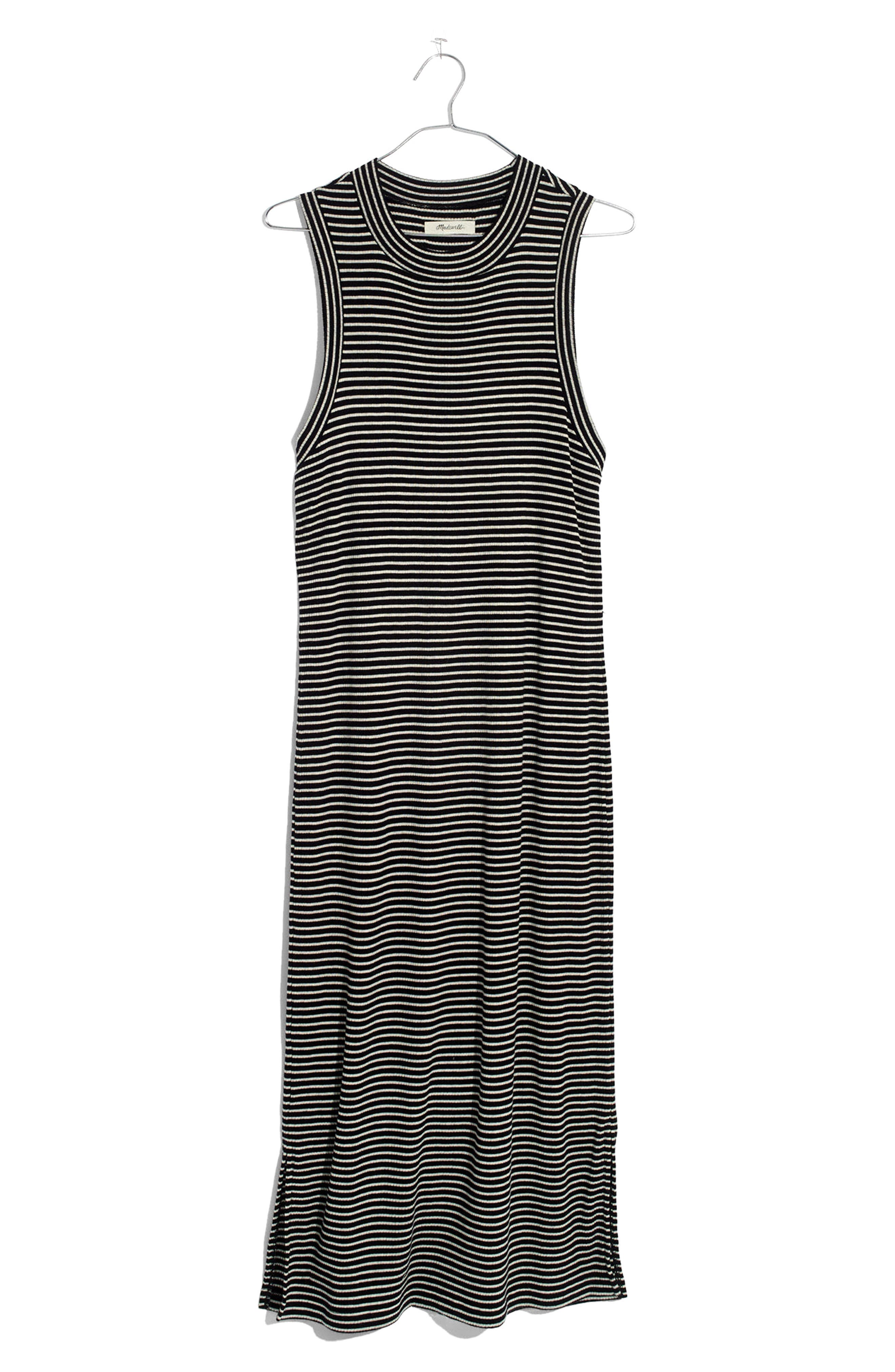 Alternate Image 4  - Madewell Ribbed Mock Neck Midi Dress