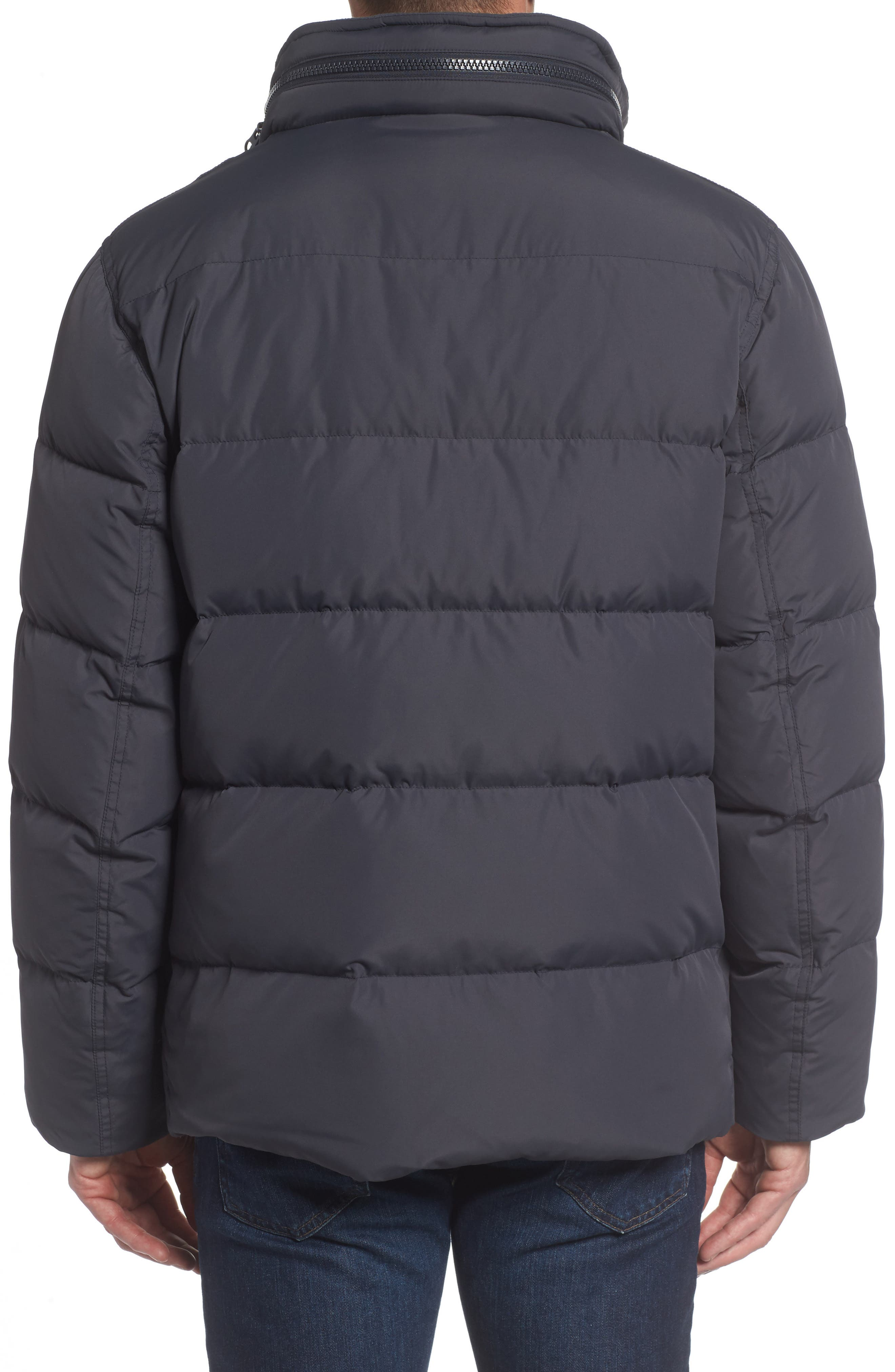 Andrew Marc Carlton Quilted Parka,                             Alternate thumbnail 2, color,                             Magnet