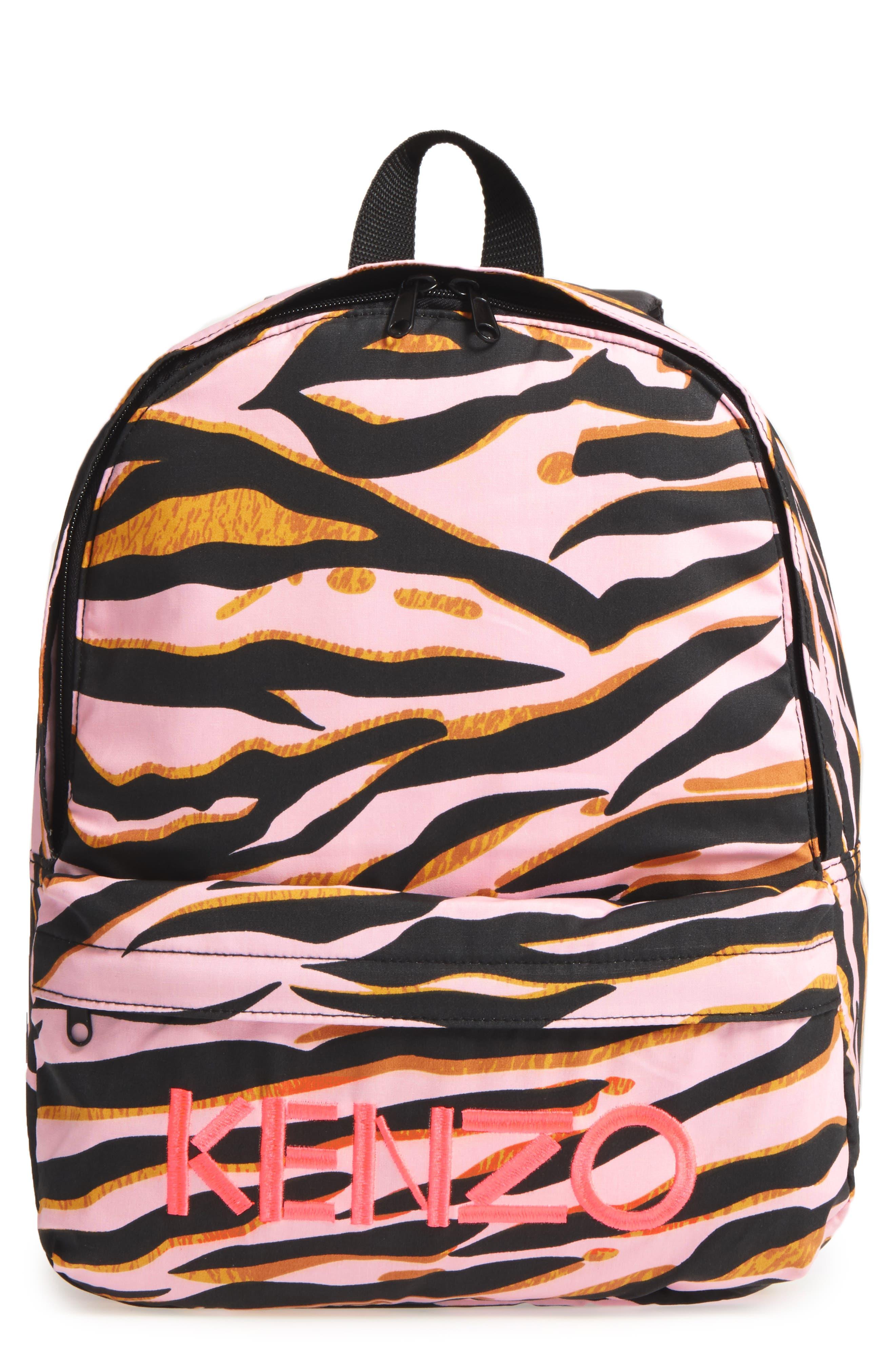 Logo Backpack,                         Main,                         color, Old Pink
