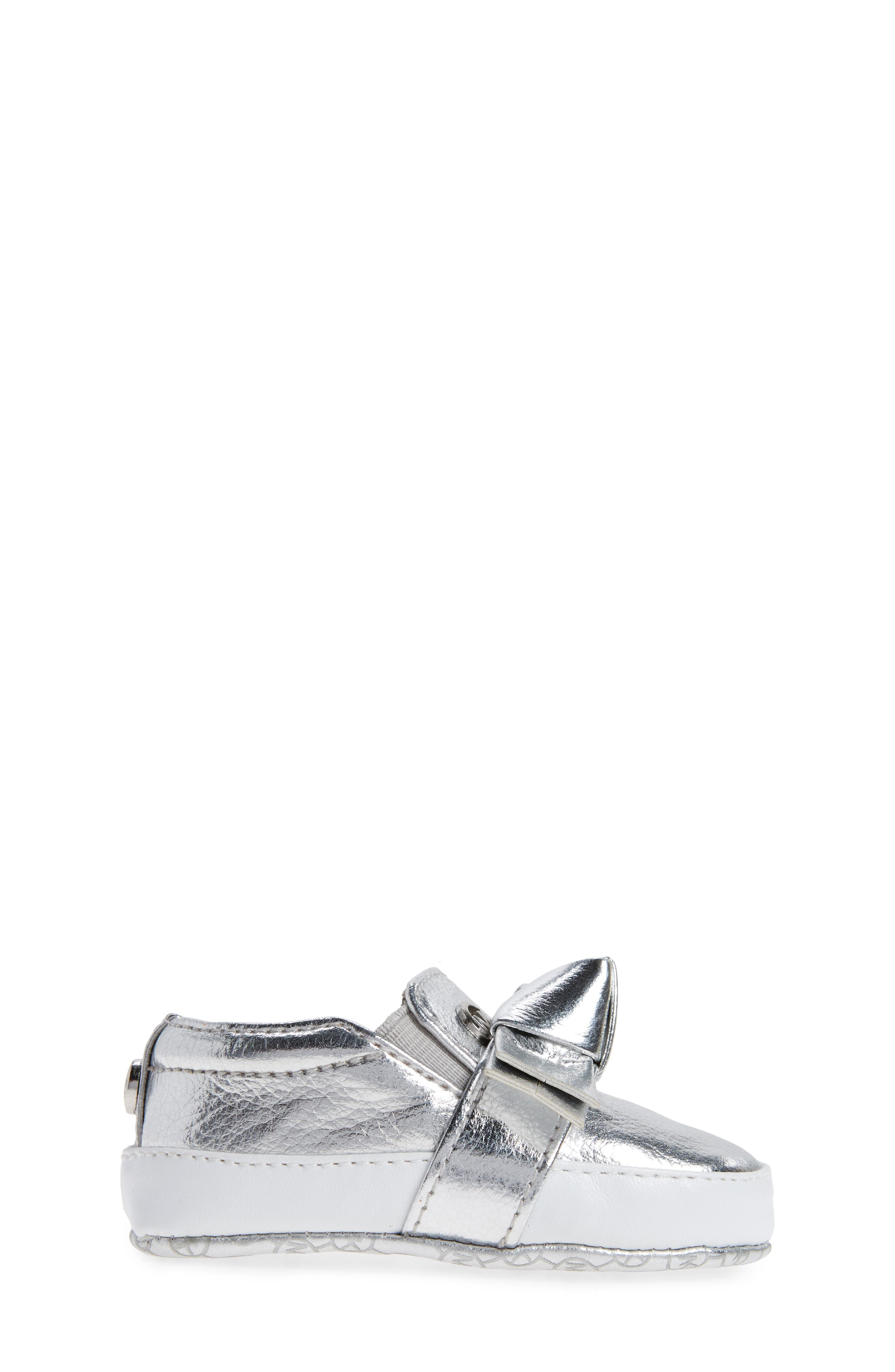 Alternate Image 3  - MICHAEL Michael Kors Baby Poppy Slip-On Crib Shoe (Baby)