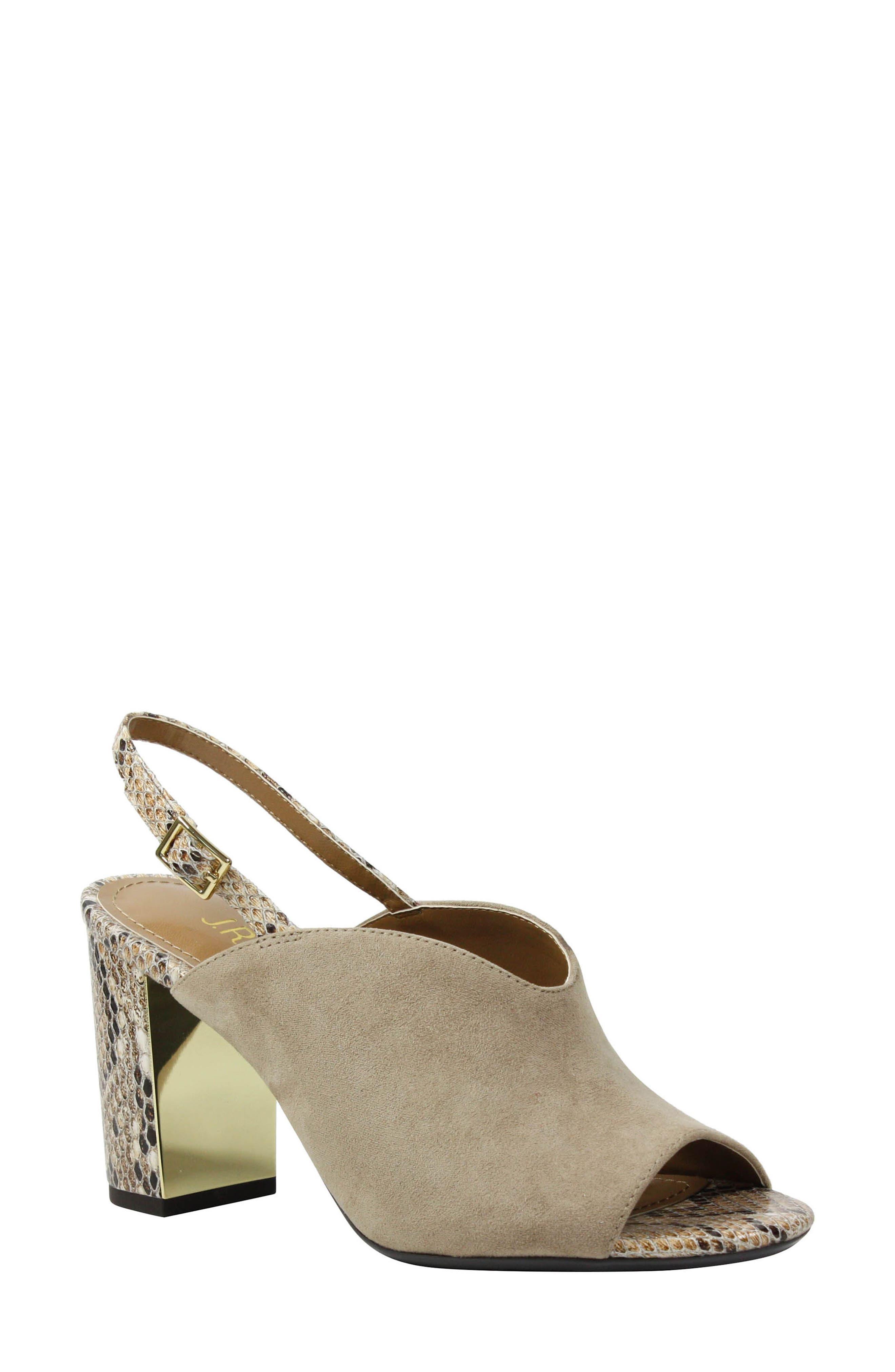 Alternate Image 1 Selected - J. Reneé Maarya Block Heel Sandal (Women)