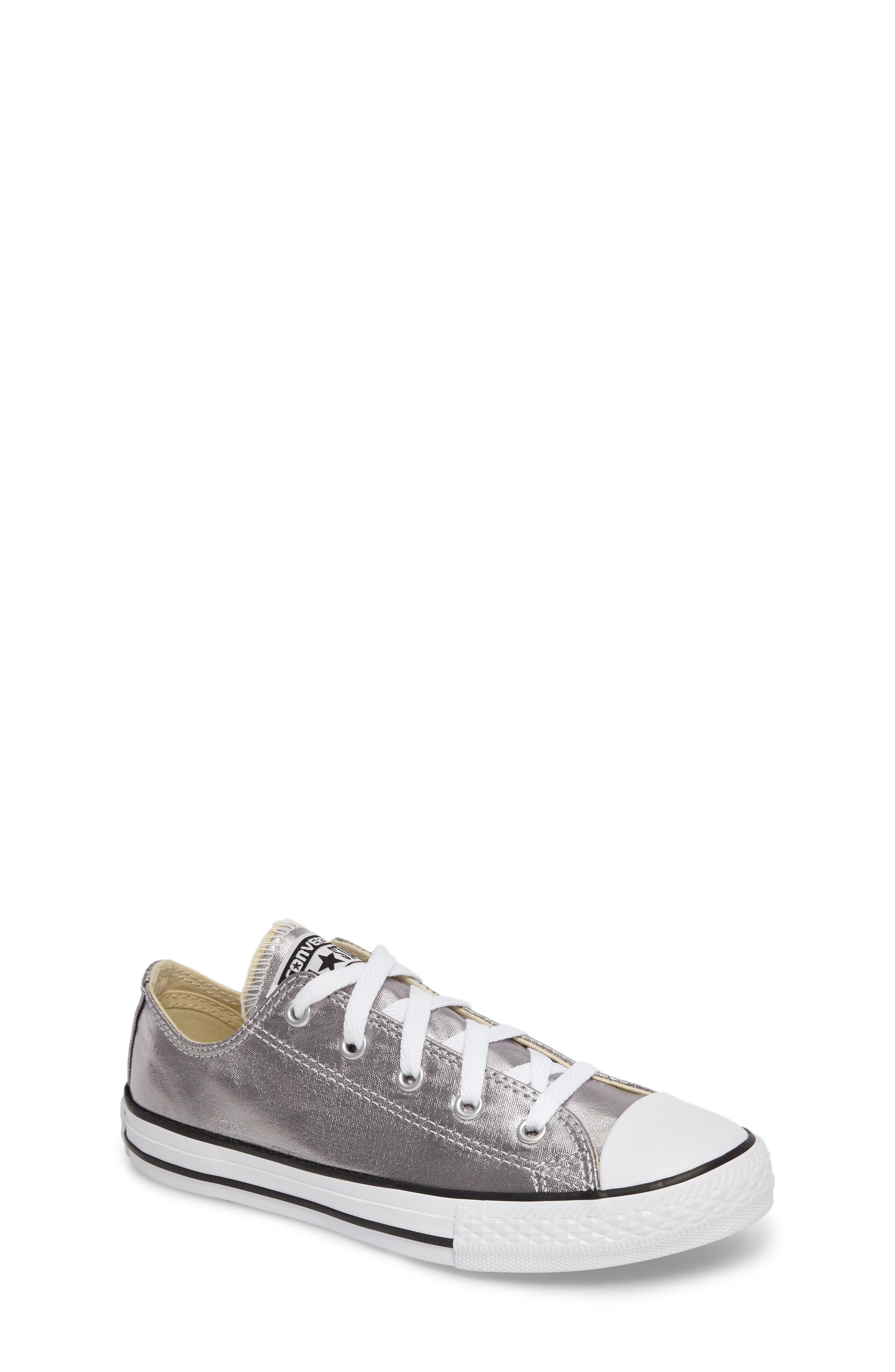 Alternate Image 1 Selected - Converse Chuck Taylor® All Star® Metallic Sneaker (Baby, Walker, Toddler & Little Kid)