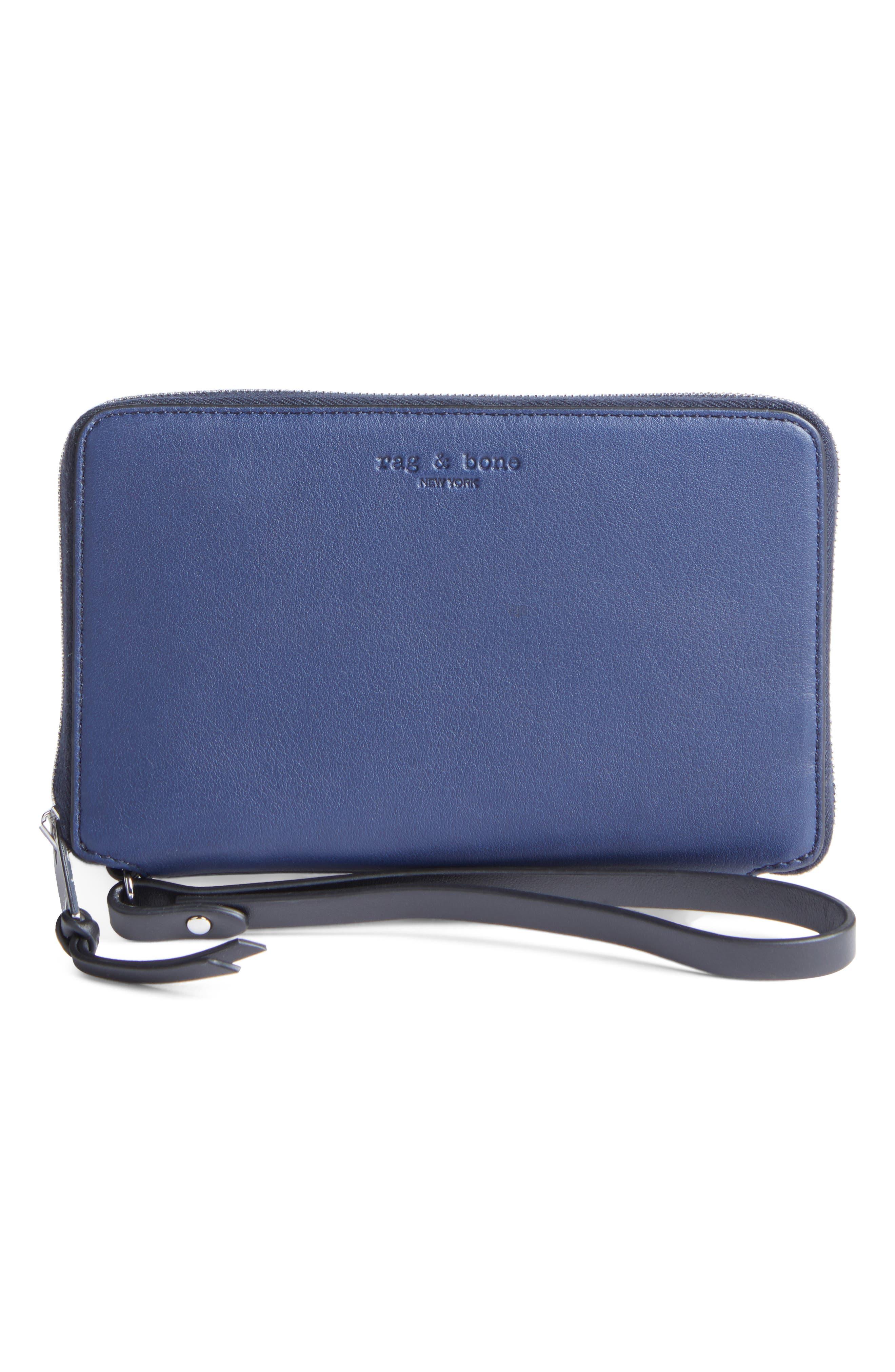 Main Image - rag & bone Devon Calfskin Smartphone Wallet