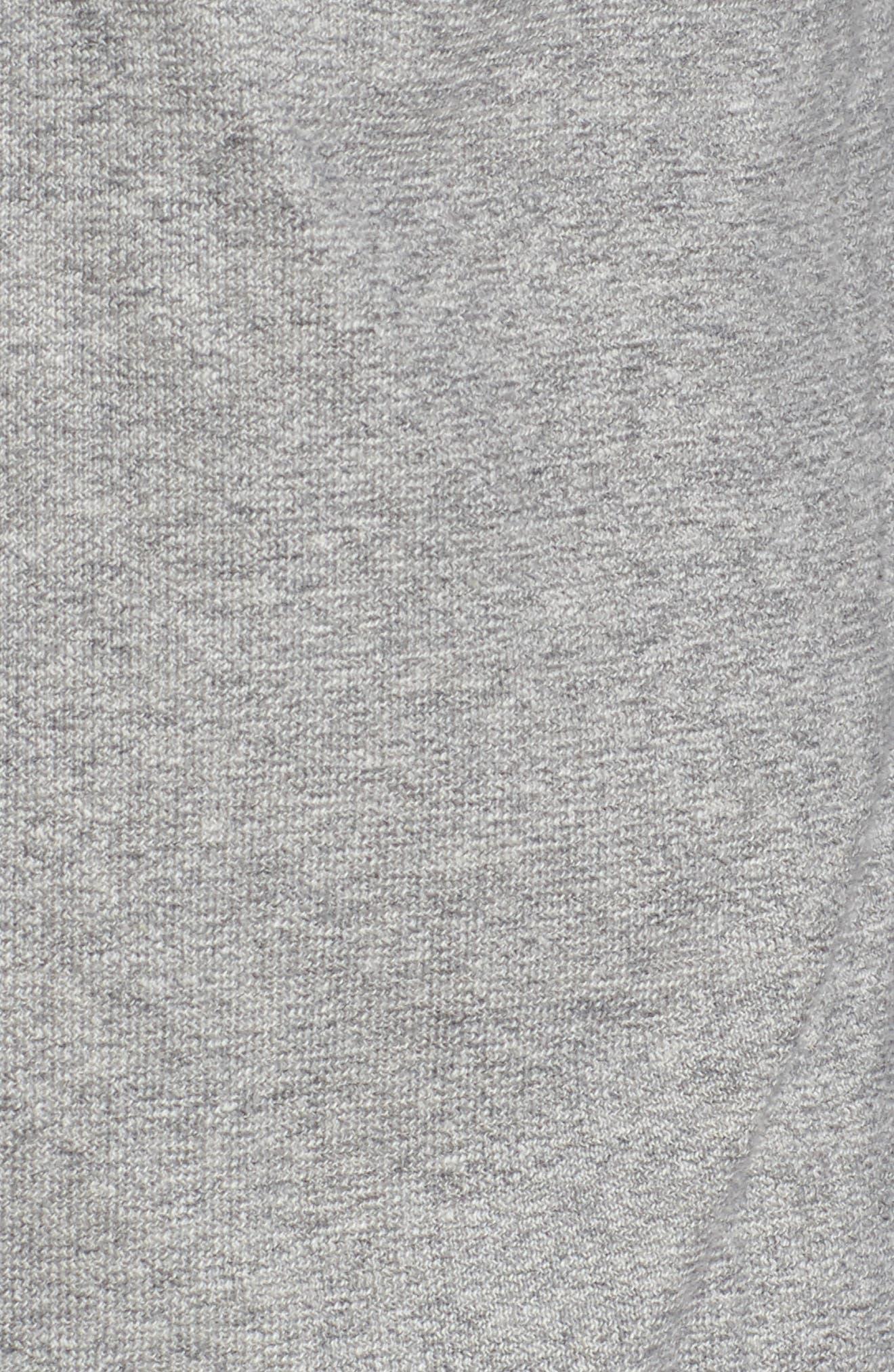 Alternate Image 5  - Nordstrom Men's Shop Trim Fit Knit Sport Shirt (Tall)