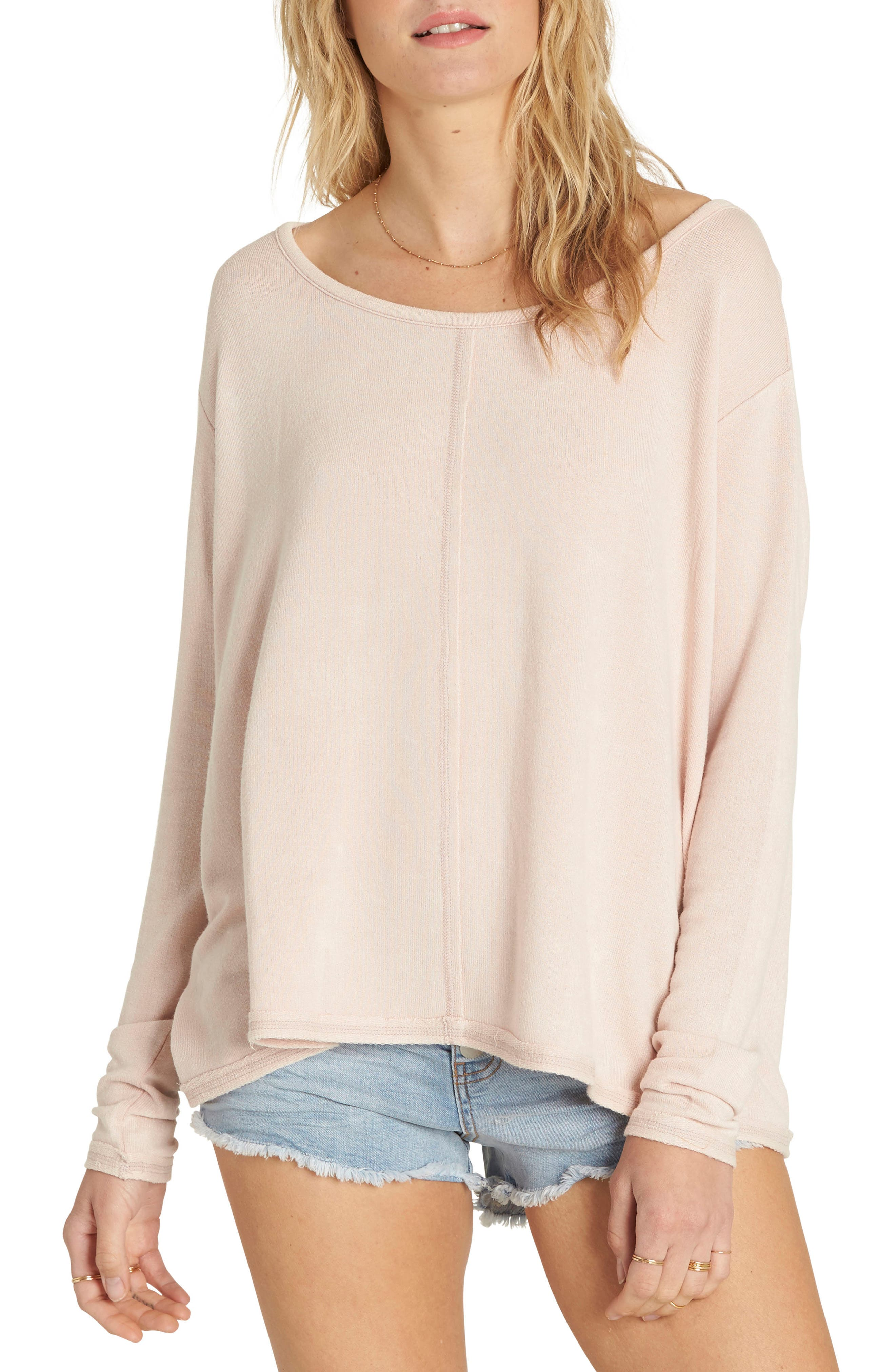 Billabong From Here Split Back Pullover