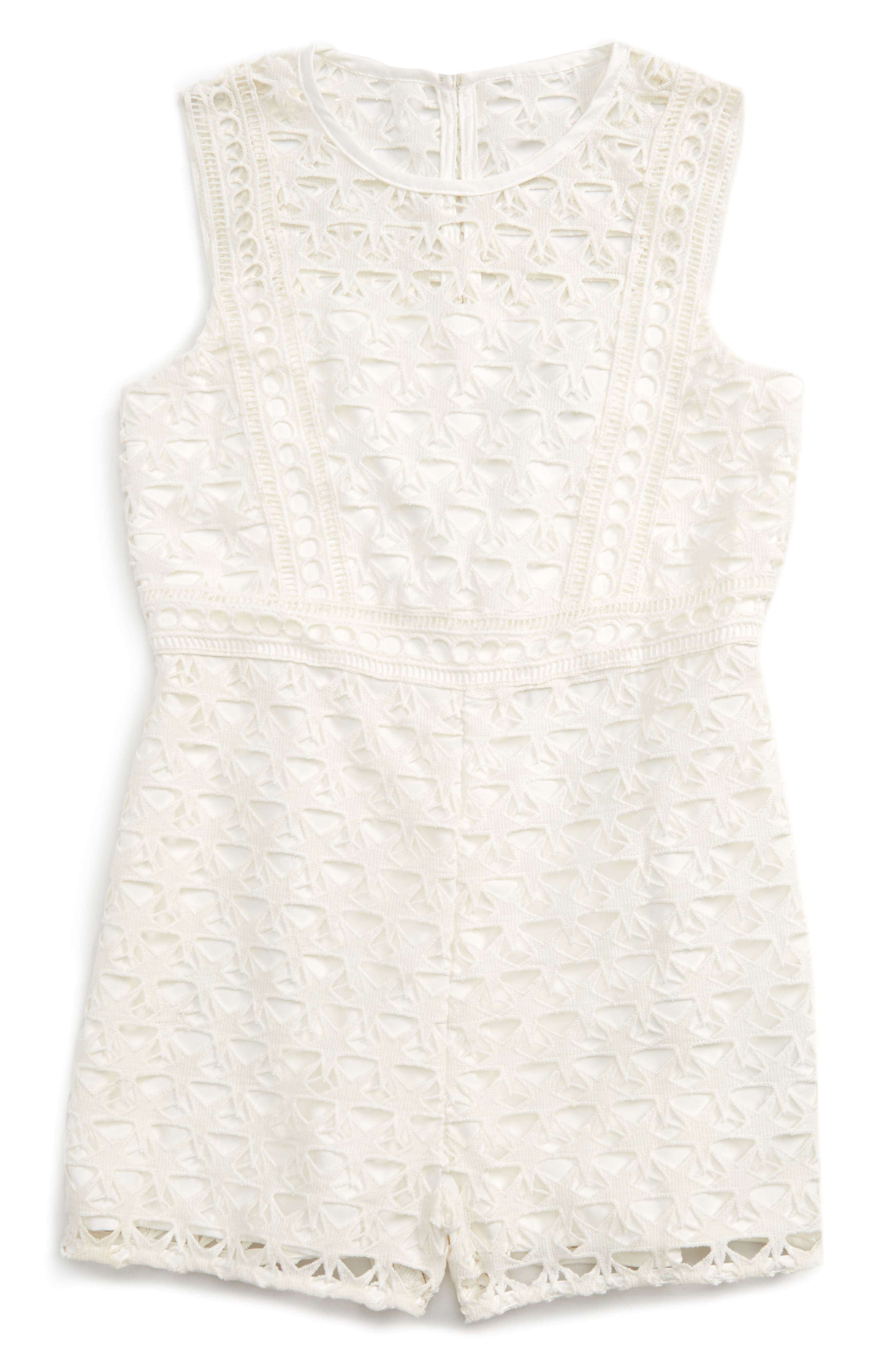 Bardot Junior Star Lace Romper (Little Girls)
