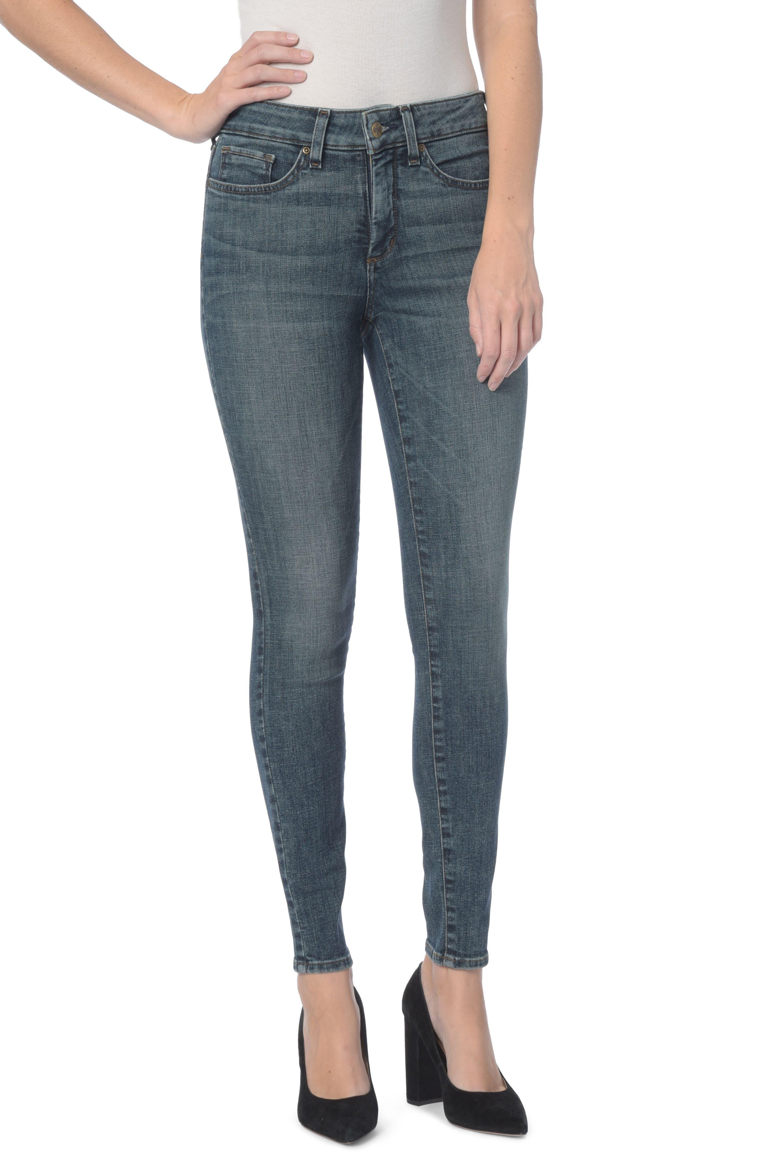 NYDJ Ami Stretch Skinny Jeans (Regular & Petite) (Desert Gold)
