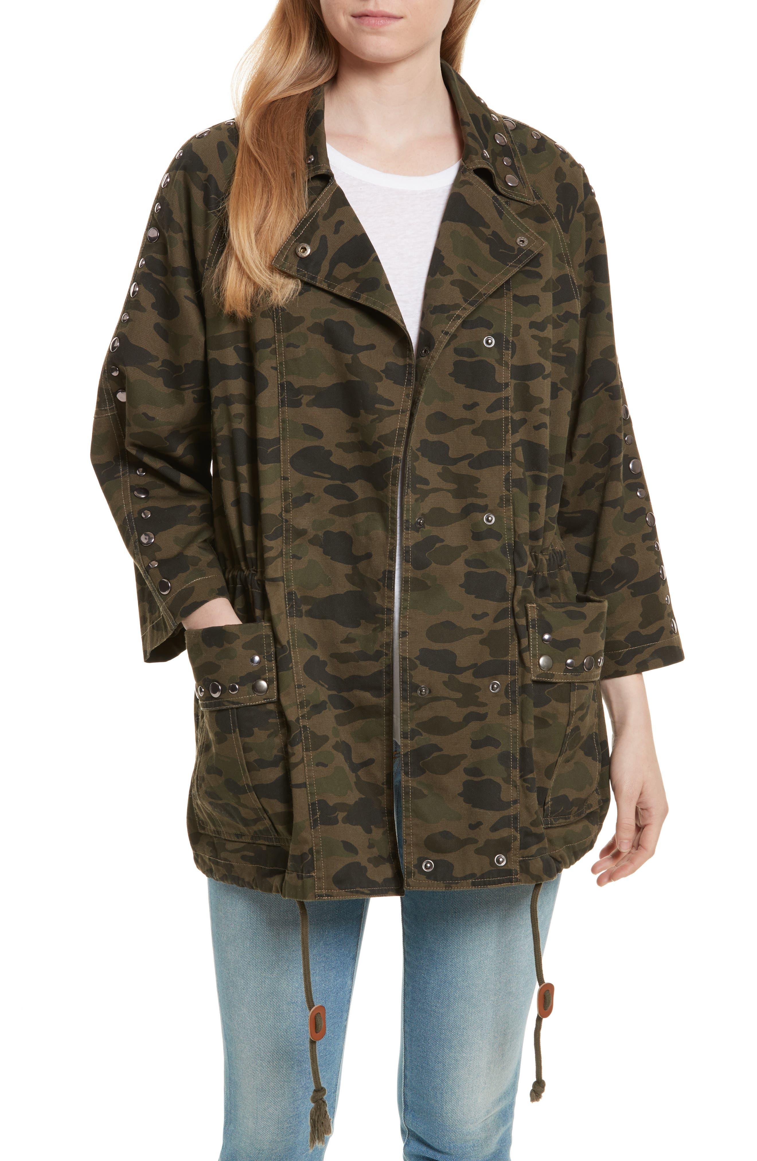 Monarda Jacket,                         Main,                         color, Camouflage
