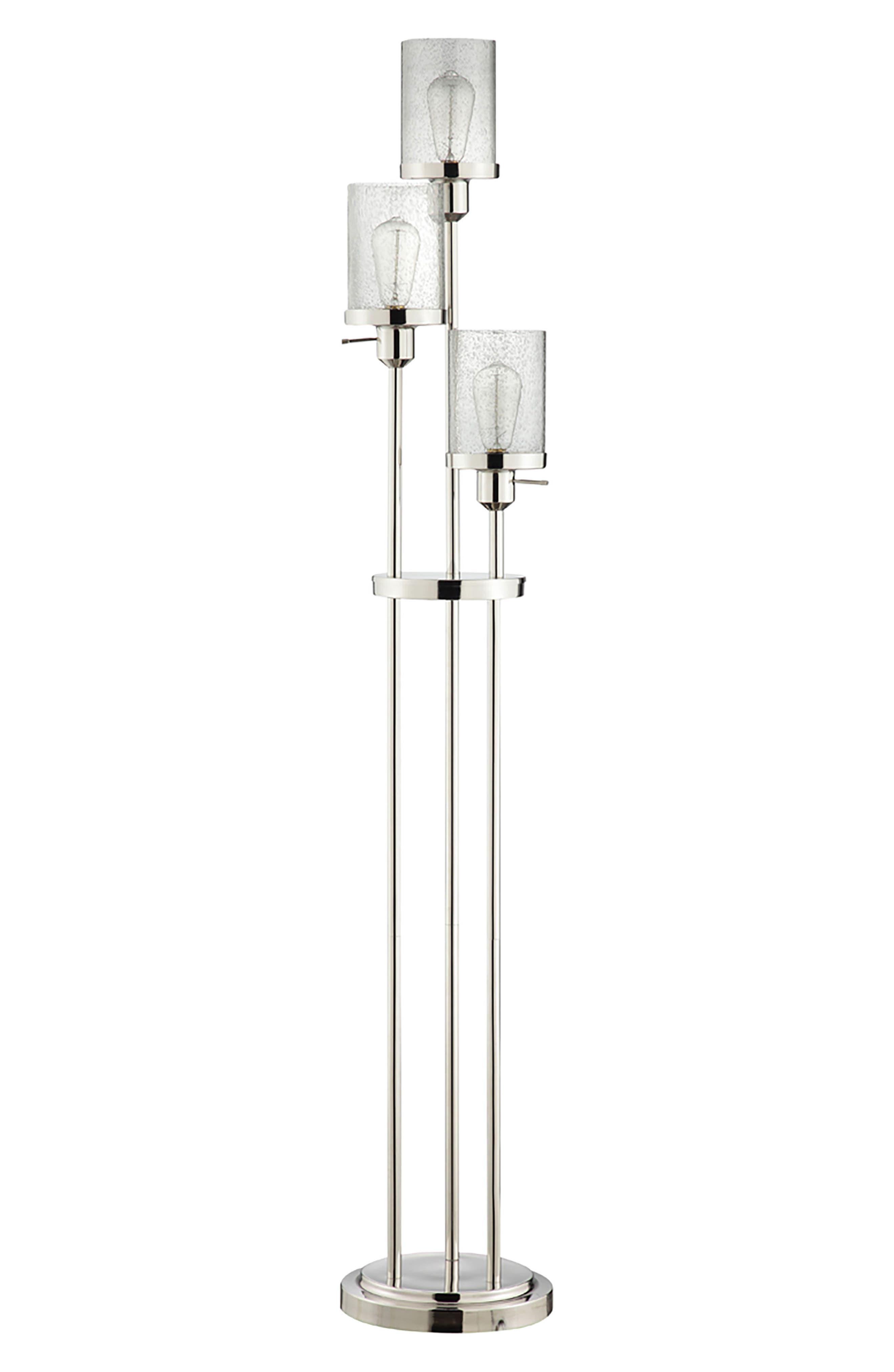 JAlexander Gigi Floor Lamp,                         Main,                         color, Nickel