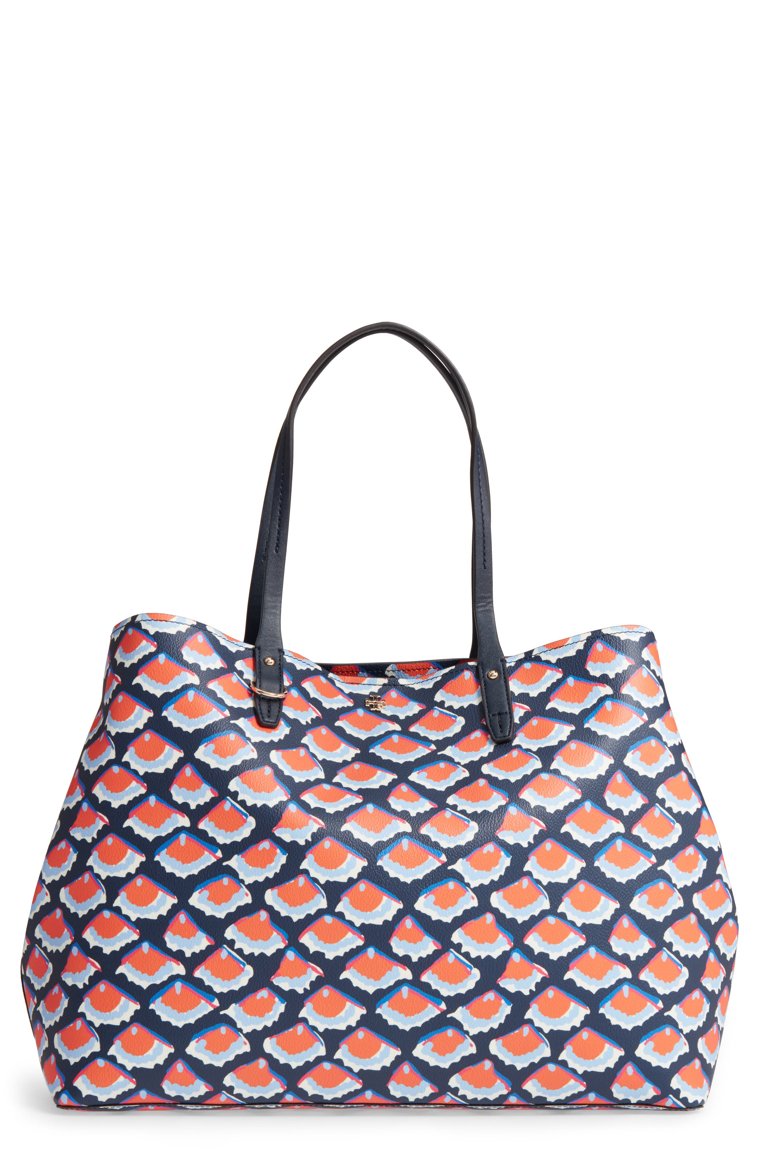 Alternate Image 1 Selected - Tory Burch Kerrington Coated Canvas Tote