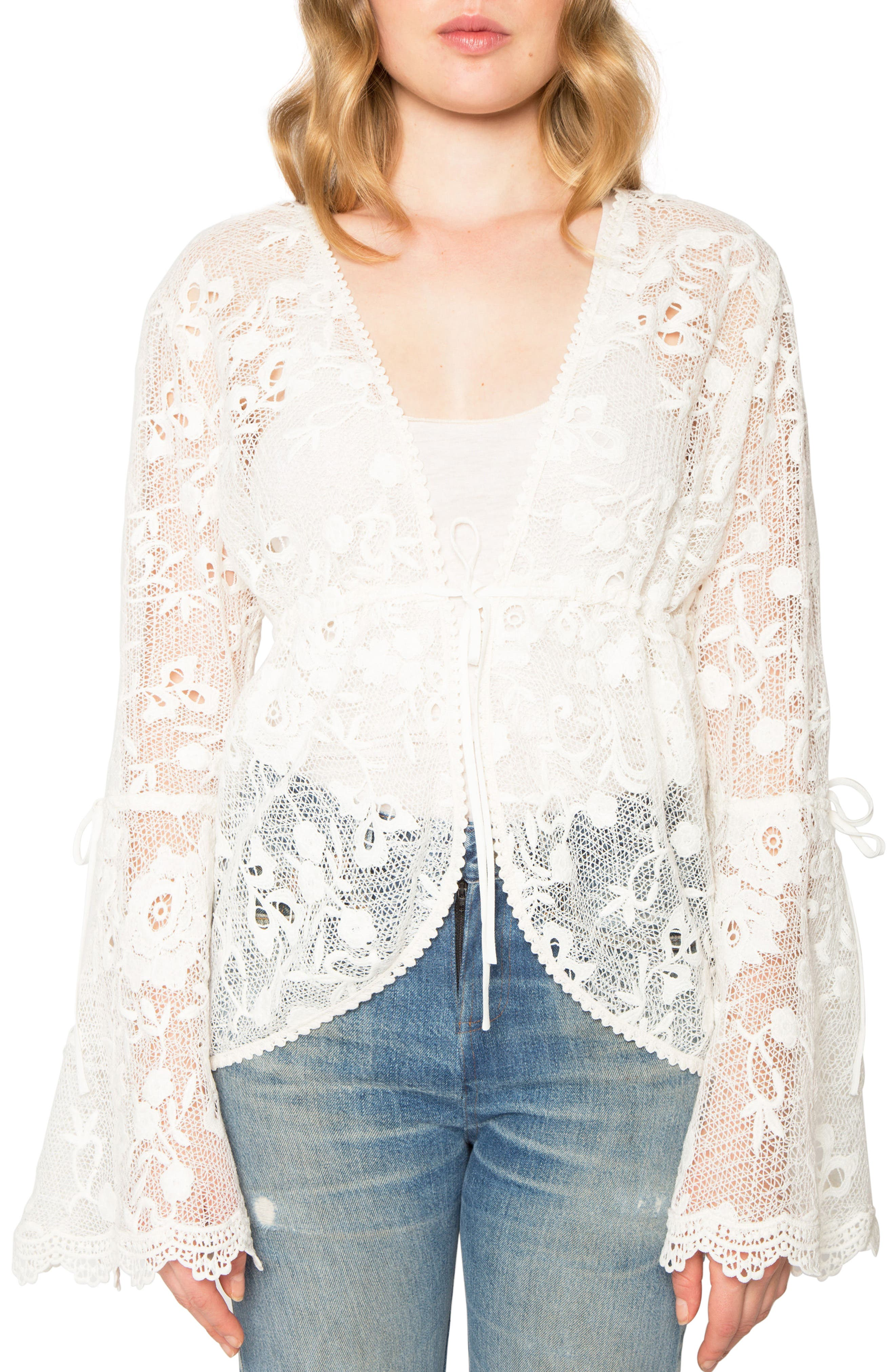 Willow & Clay Lace Jacket