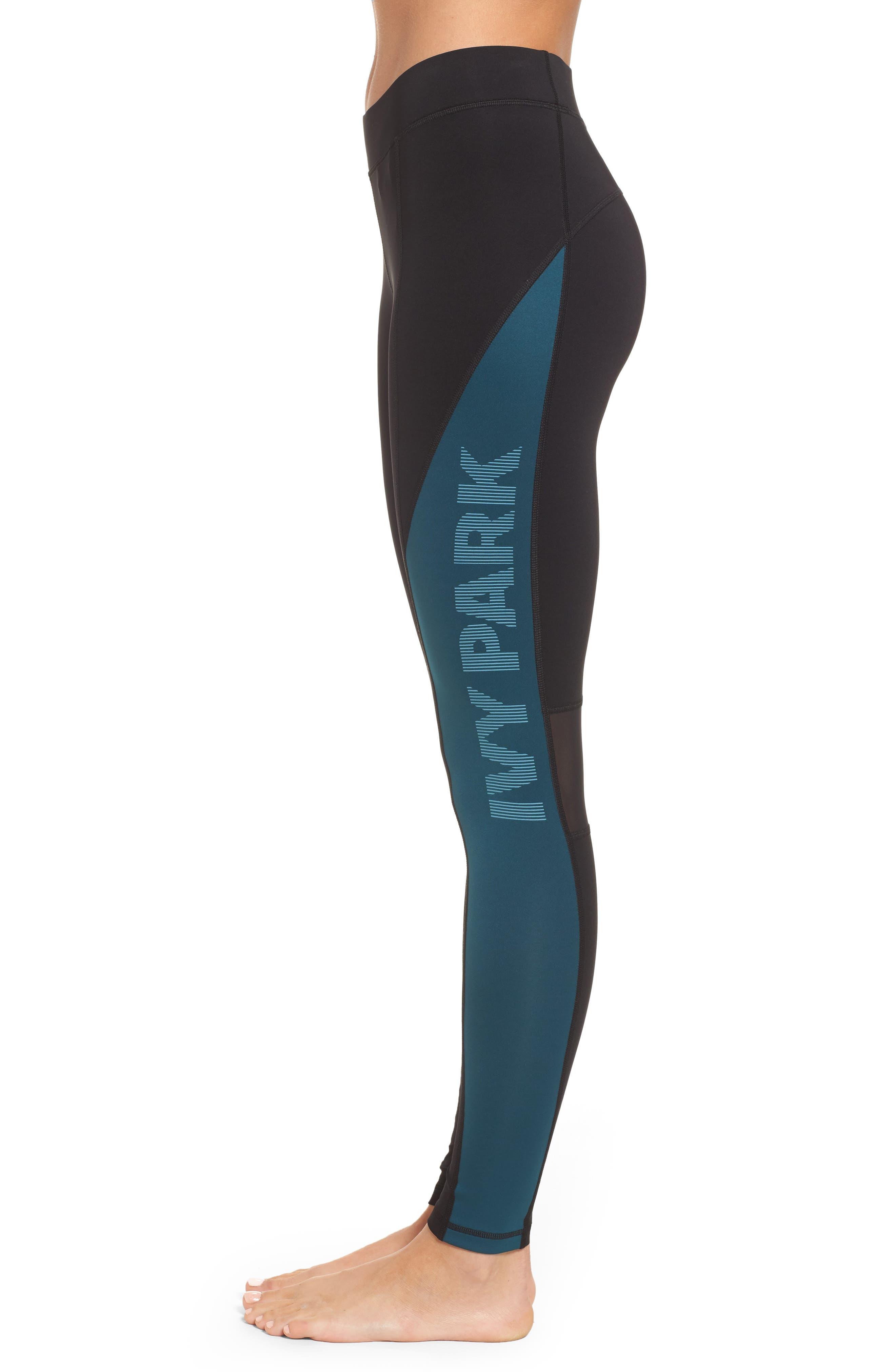 Alternate Image 3  - IVY PARK® Logo Block Mid Rise Ankle Leggings