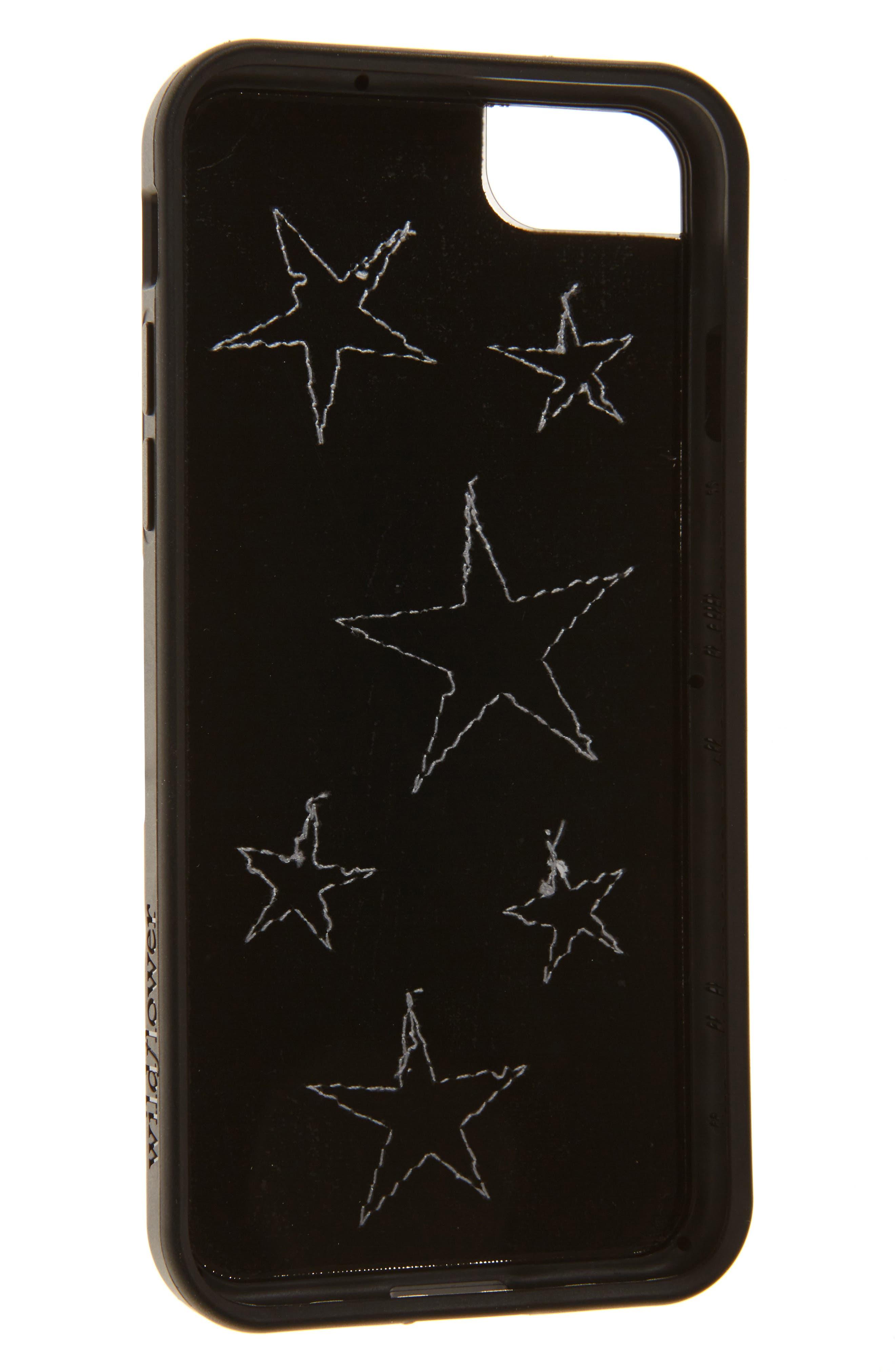 Alternate Image 2  - Wildflower Velvet Star iPhone 7 Case