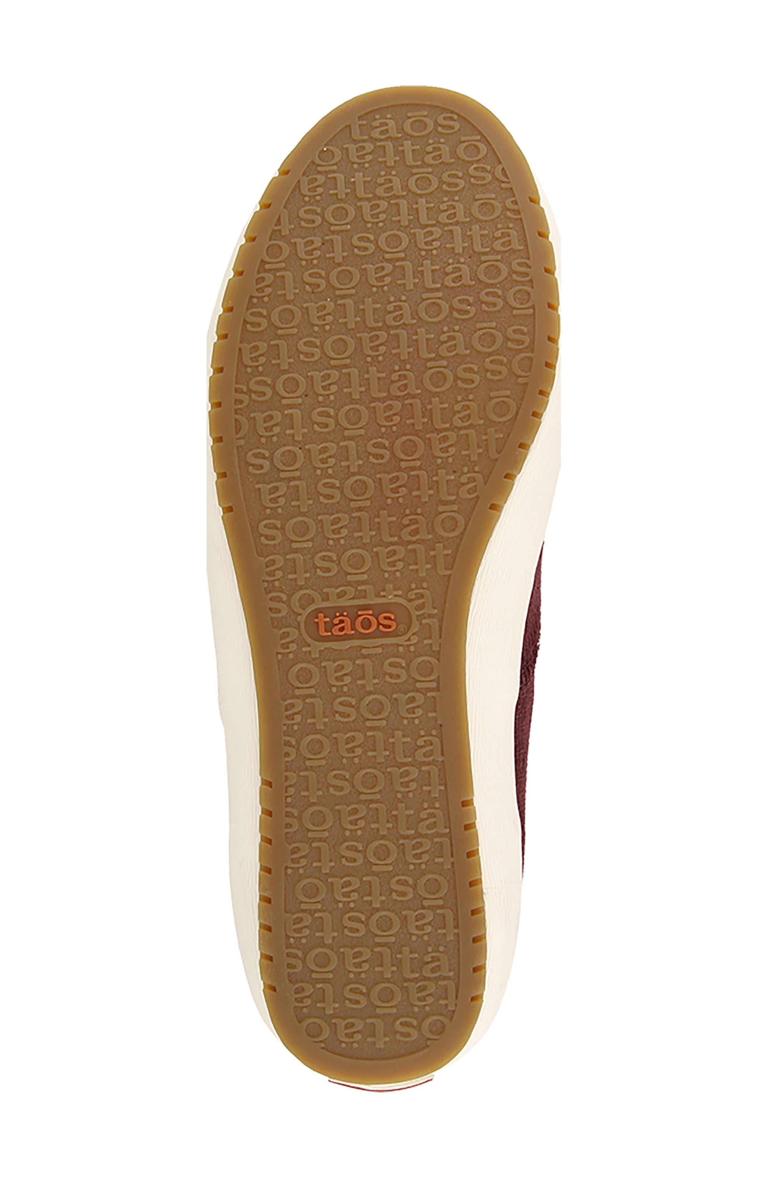 Guest Star Sneaker,                             Alternate thumbnail 6, color,                             Bordeaux Cord Fabric