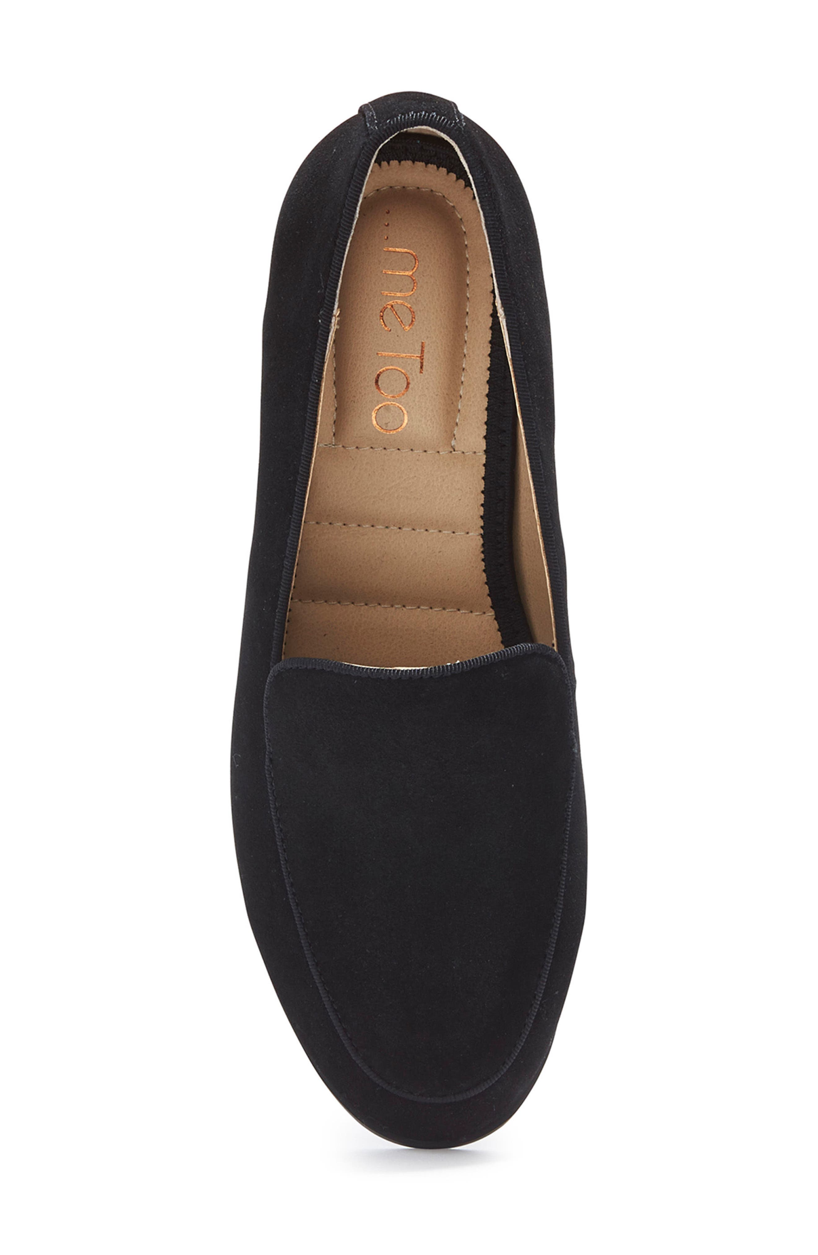 Jazzy Loafer,                             Alternate thumbnail 4, color,                             Black Suede