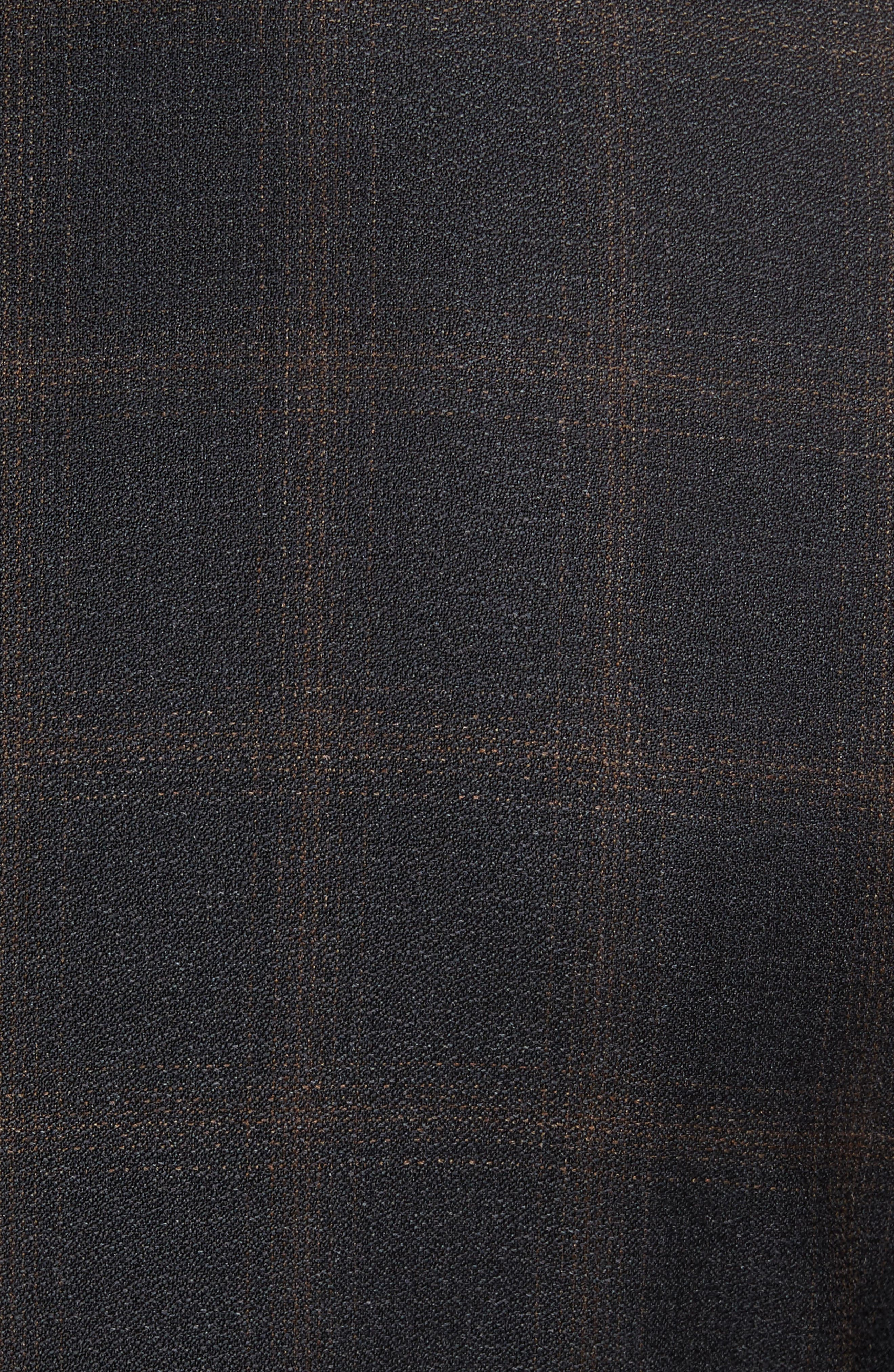 Alternate Image 7  - BOSS Novan/Ben Trim Fit Plaid Wool Suit
