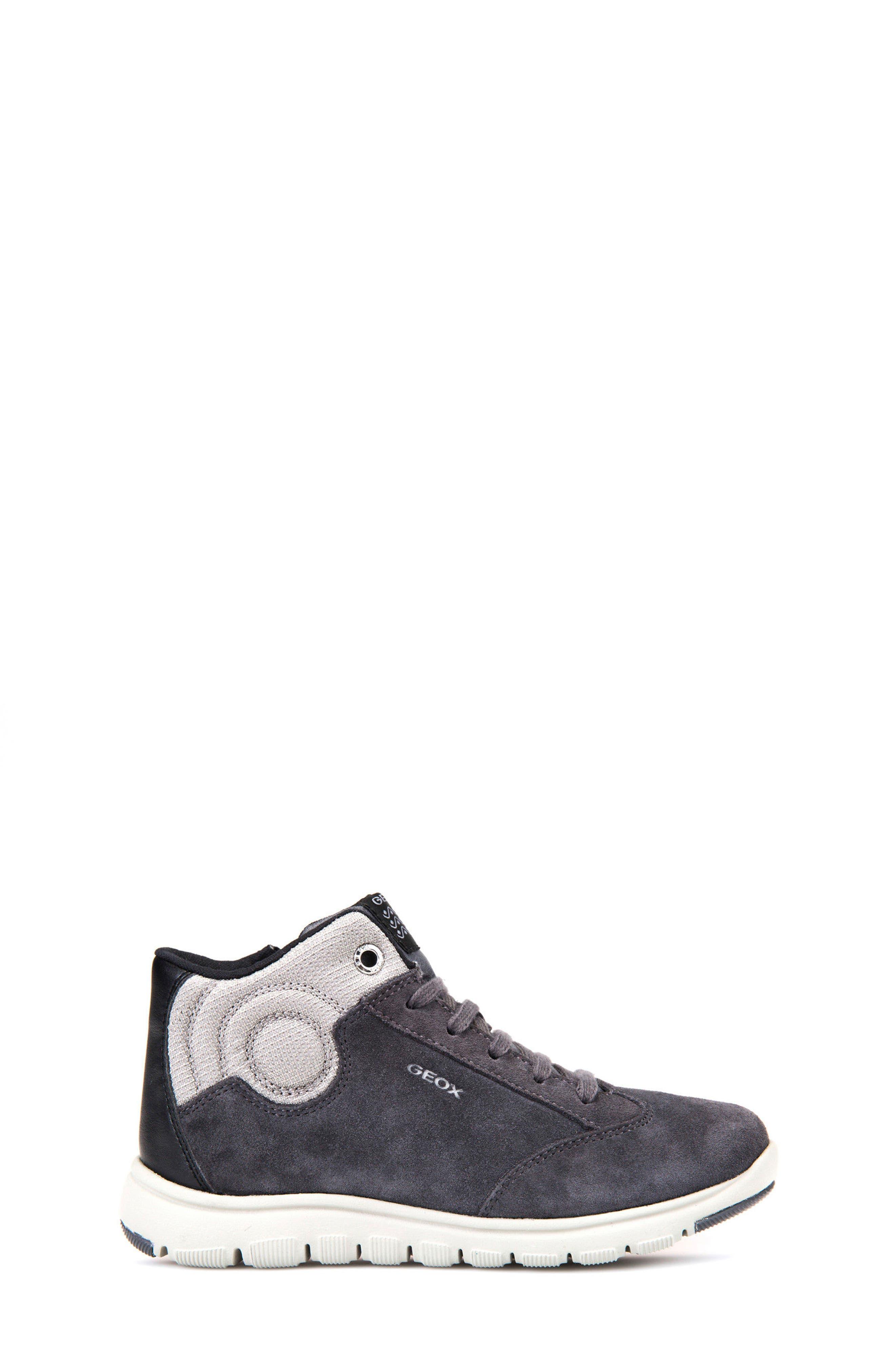 Xunday Mid Top Sneaker,                             Alternate thumbnail 3, color,                             Grey/ Light Grey