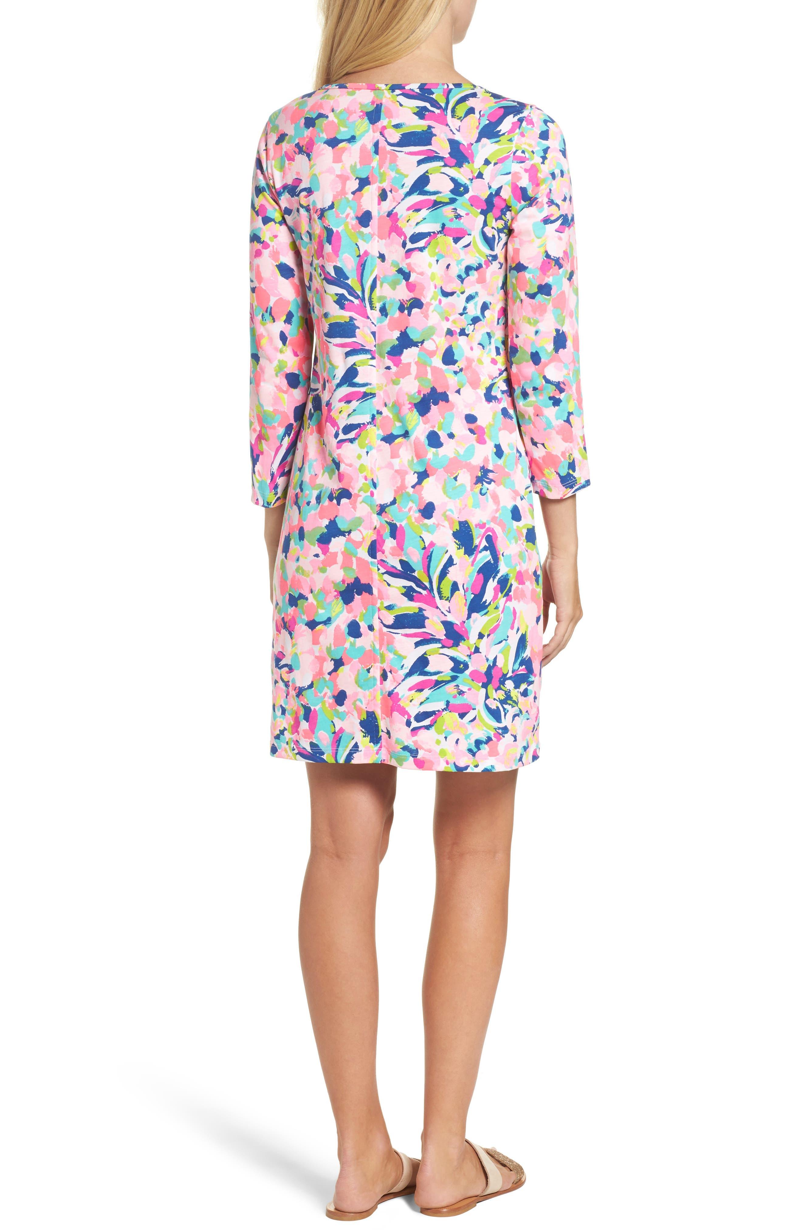 Beacon Shift Dress,                             Alternate thumbnail 2, color,                             Multi Pina Colada Club