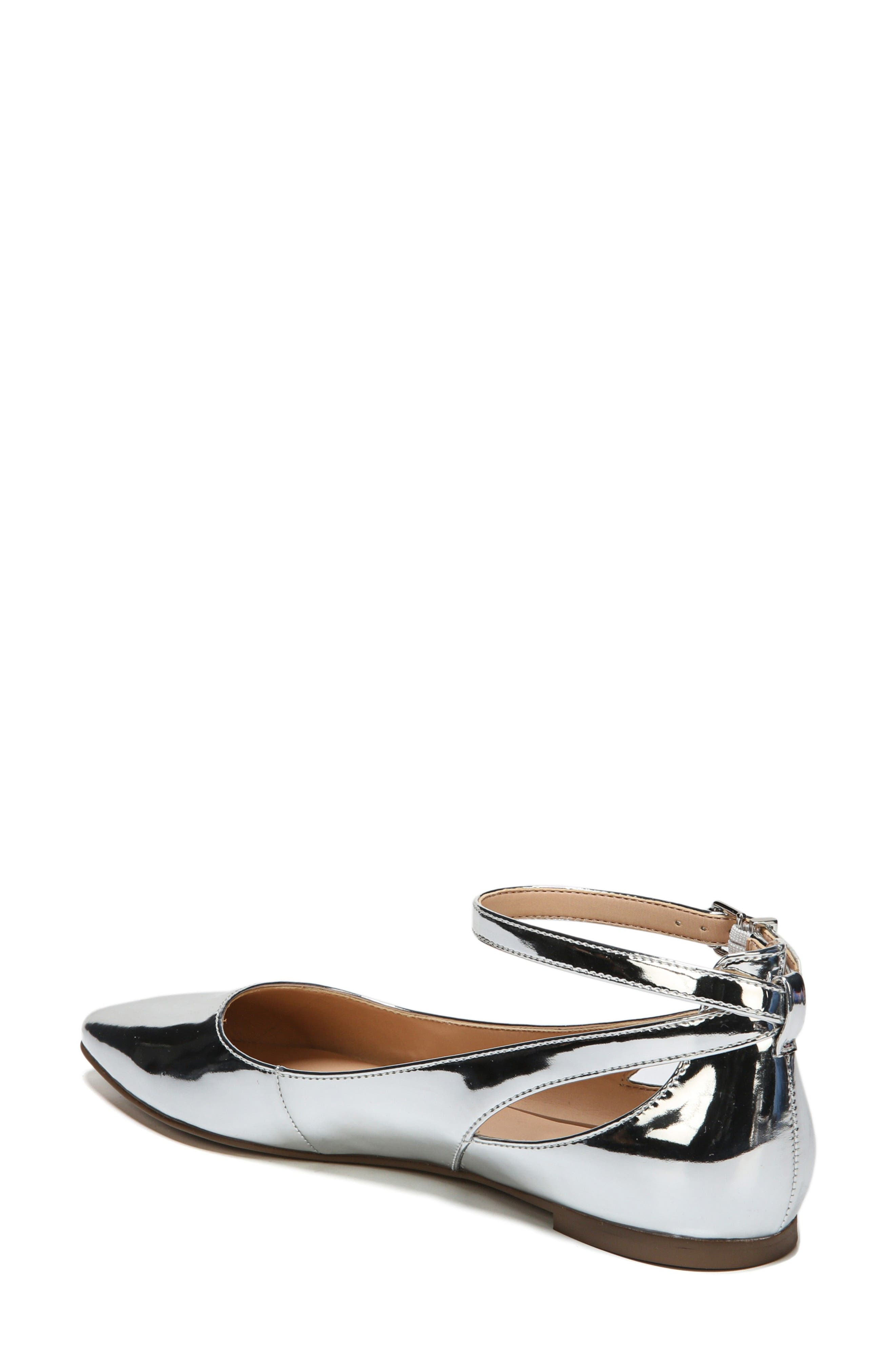 Alternate Image 2  - SARTO by Franco Sarto Sylvia Ankle Strap Flat (Women)
