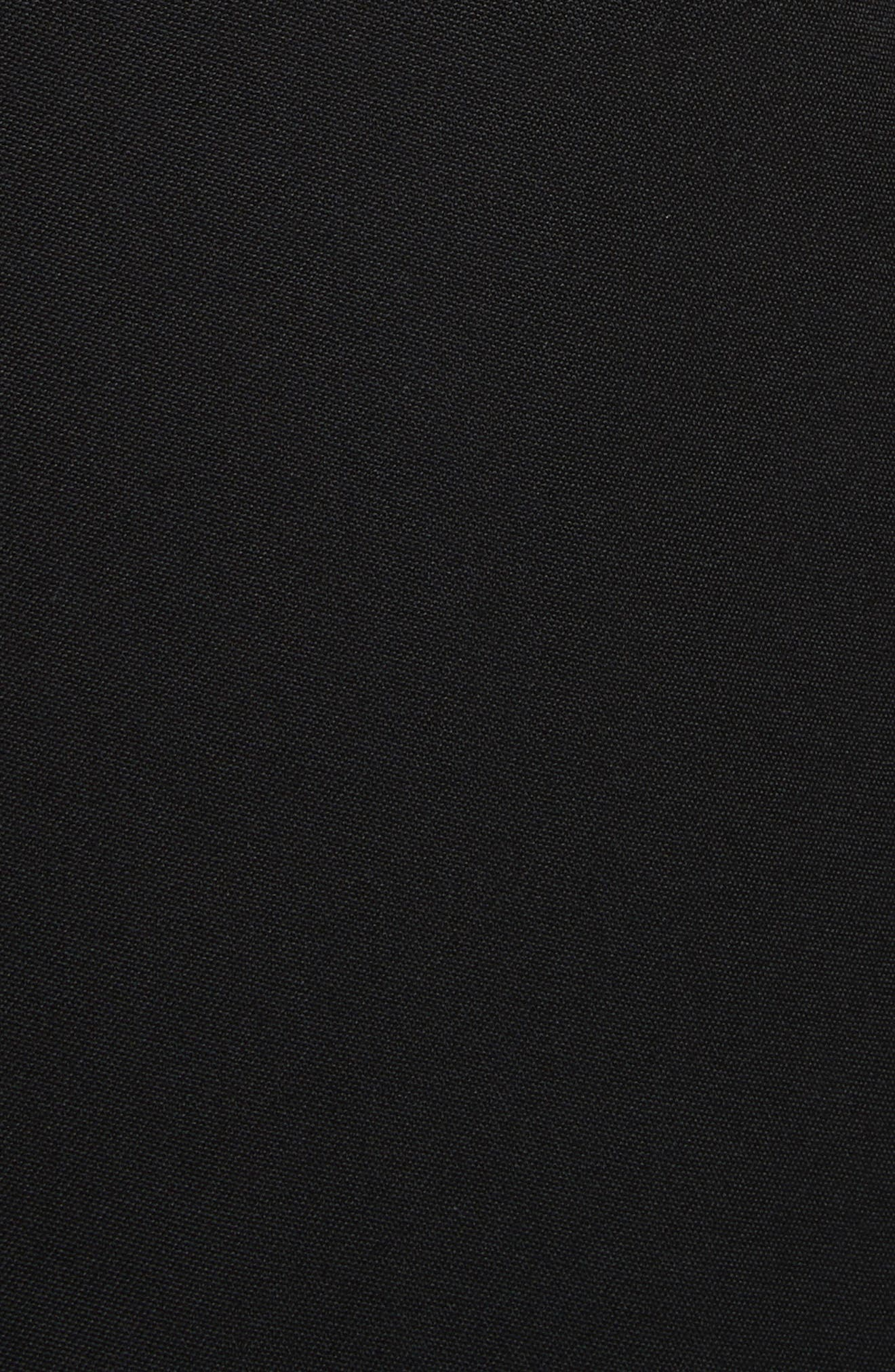 Crystal Lapel Blazer,                             Alternate thumbnail 5, color,                             Black
