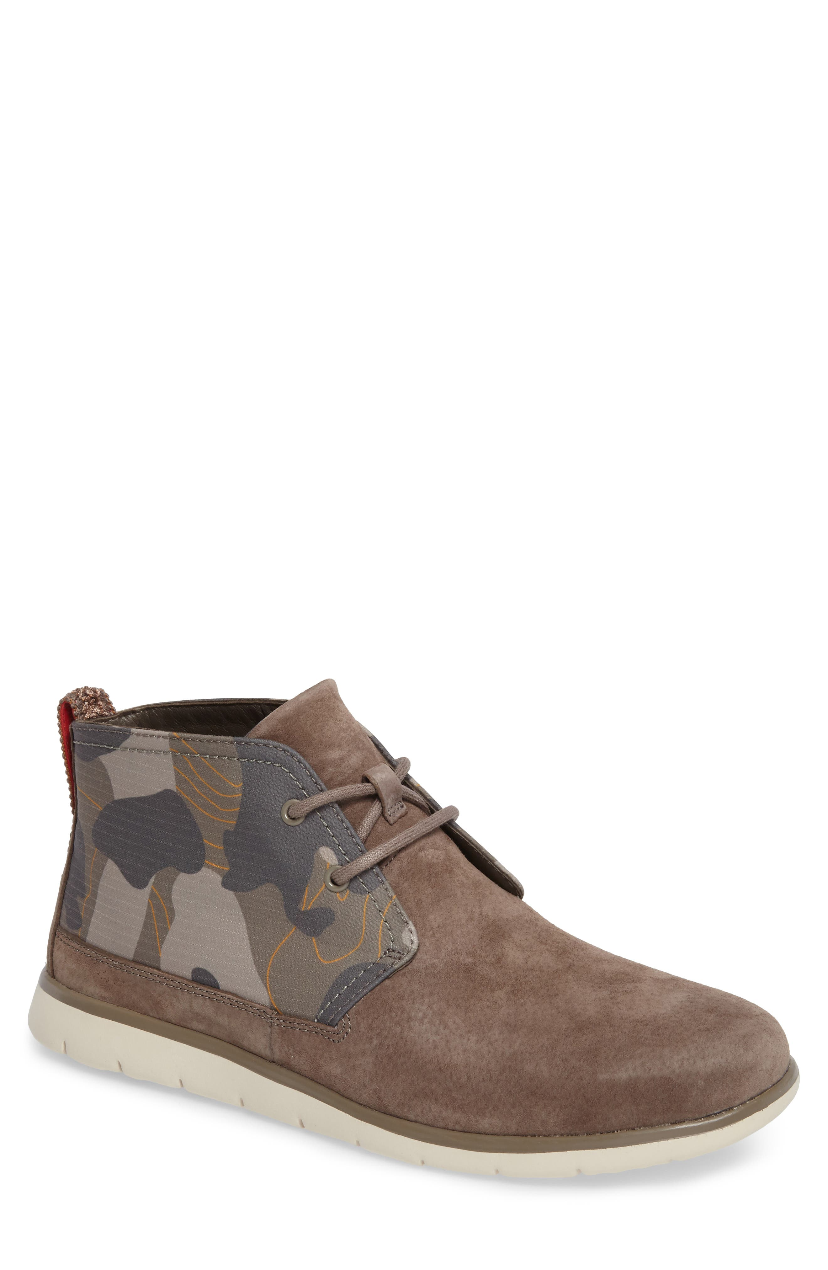 Freamon Chukka Boot,                         Main,                         color, Brindle